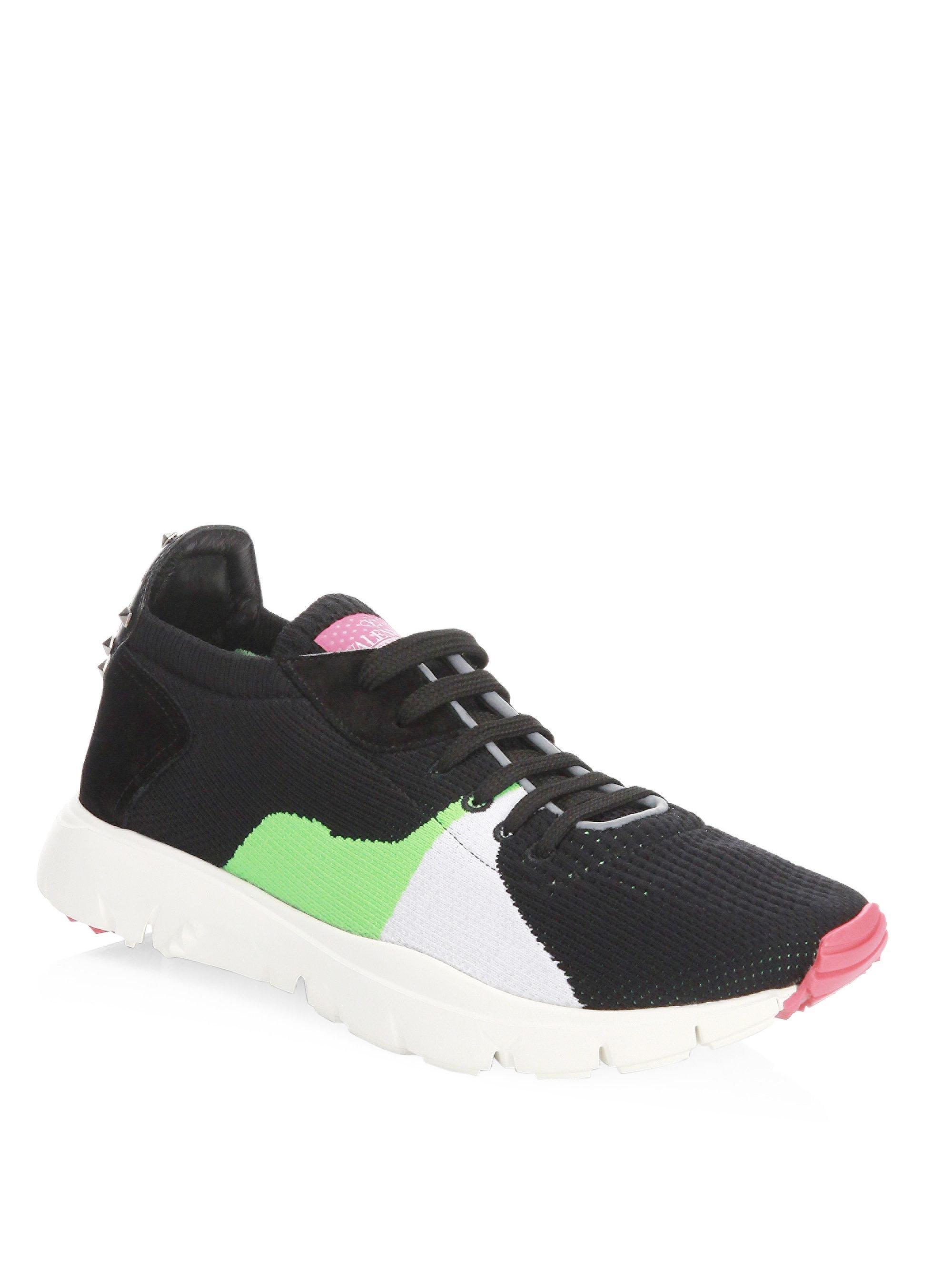 ValentinoKnit Low Sneakers eEtdXd