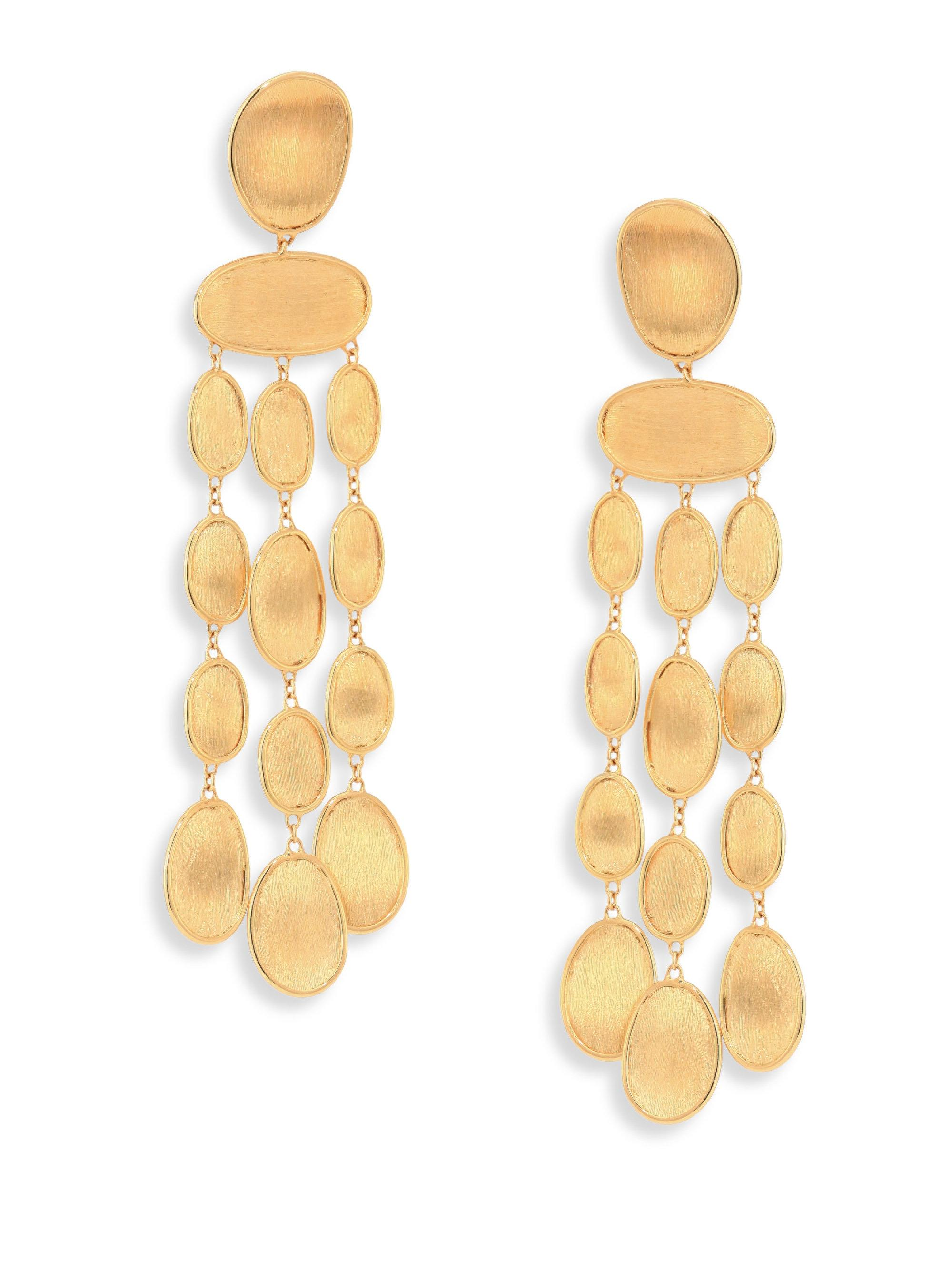 Lyst marco bicego lunaria 18k yellow gold chandelier earrings in marco bicego womens metallic lunaria 18k yellow gold chandelier earrings arubaitofo Choice Image