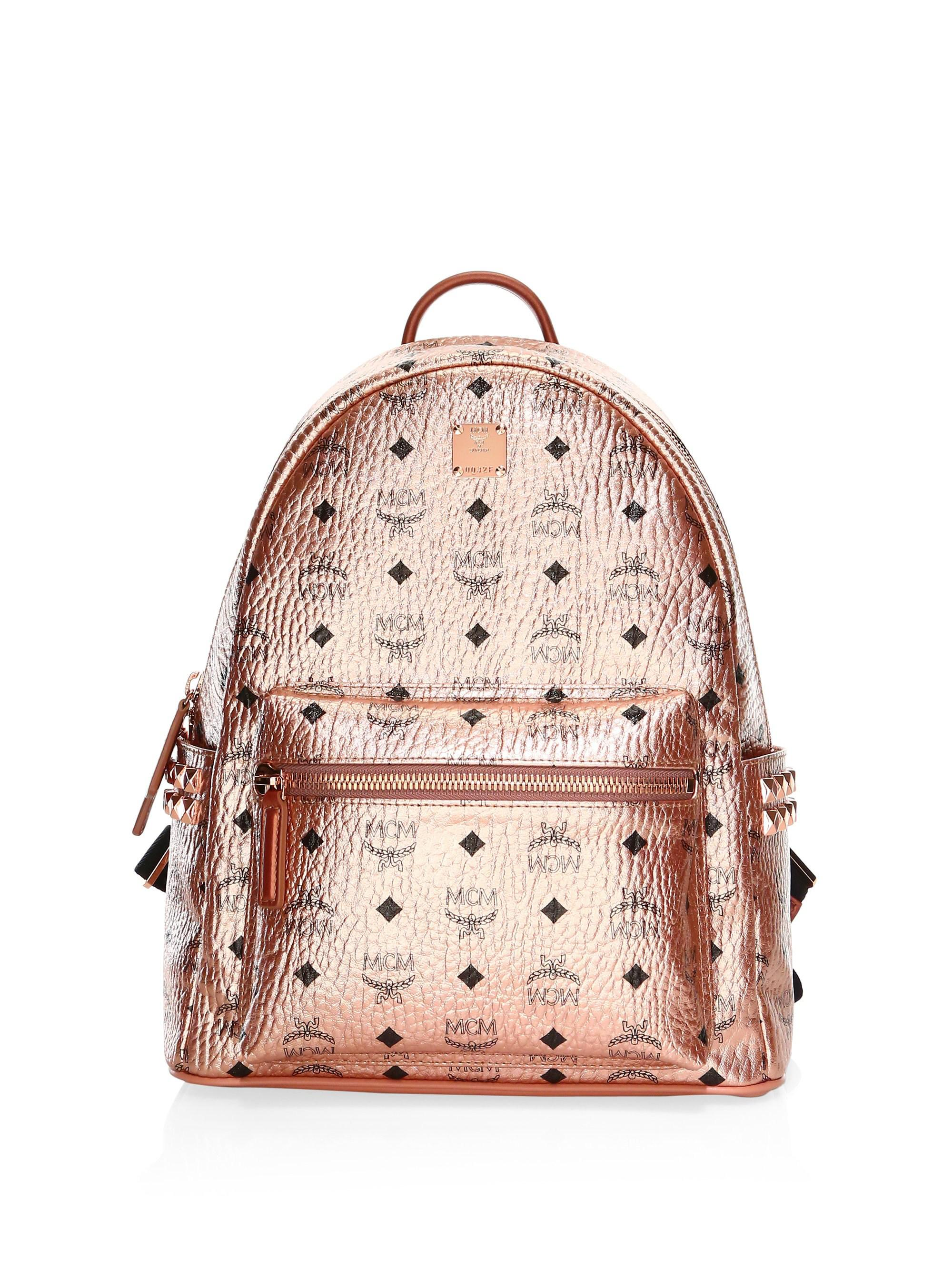 MCM. Women s Small-medium Stark Metallic Backpack 6f3d8fae0aef0