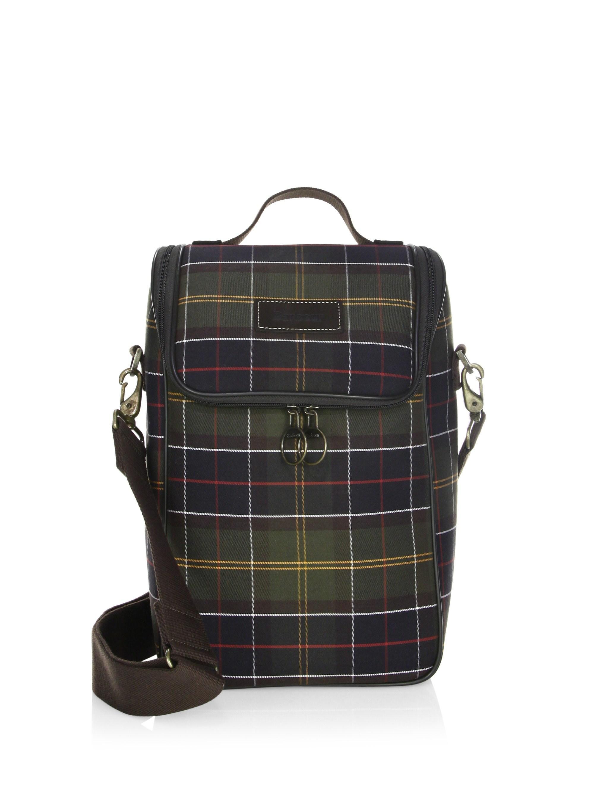 4396cd678266 Lyst - Barbour Tartan Cooler Bag for Men