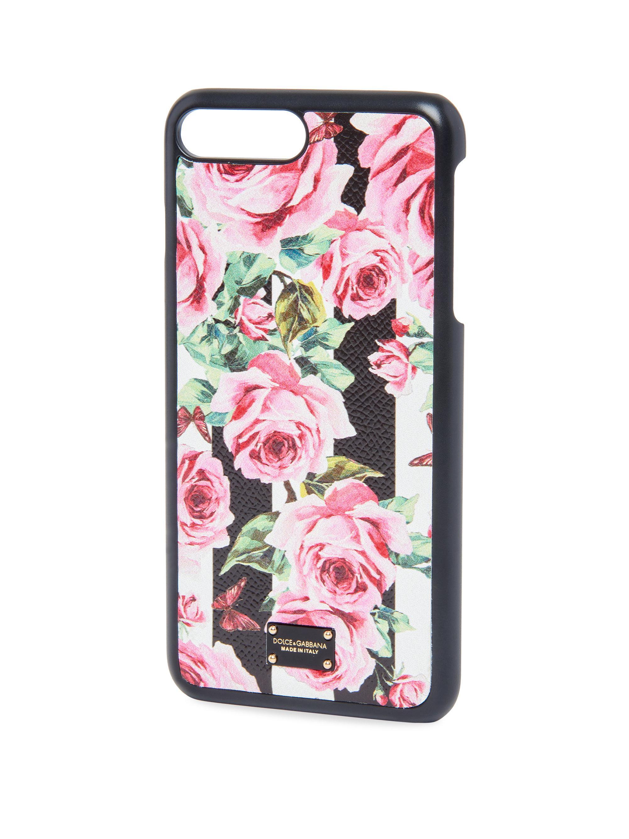 Multicolor Rose iPhone 7 Plus Case Dolce & Gabbana UnSzN
