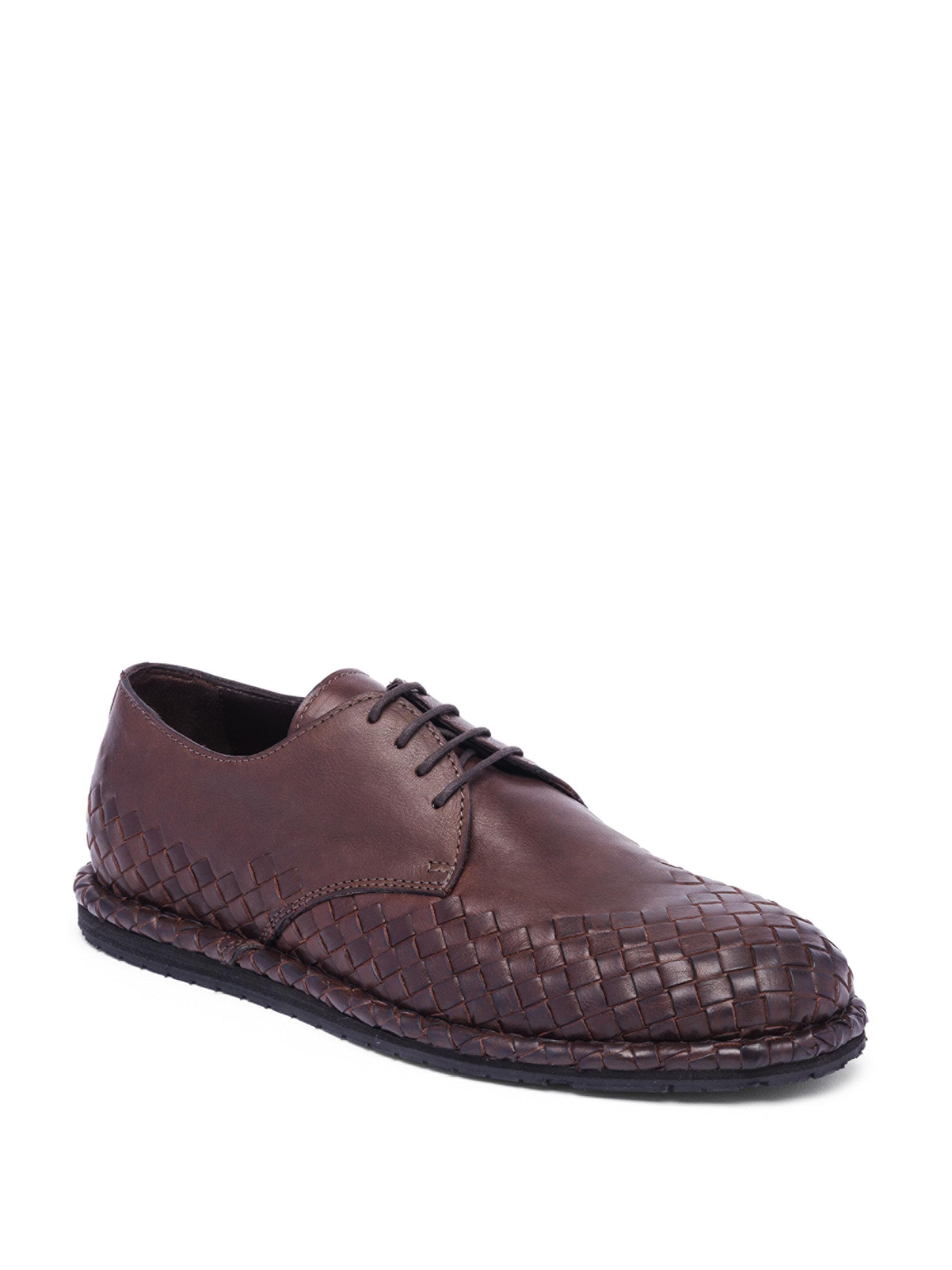 Bottega Veneta Intrecciato Leather Lace-Up Shoes wF1XgtMCG
