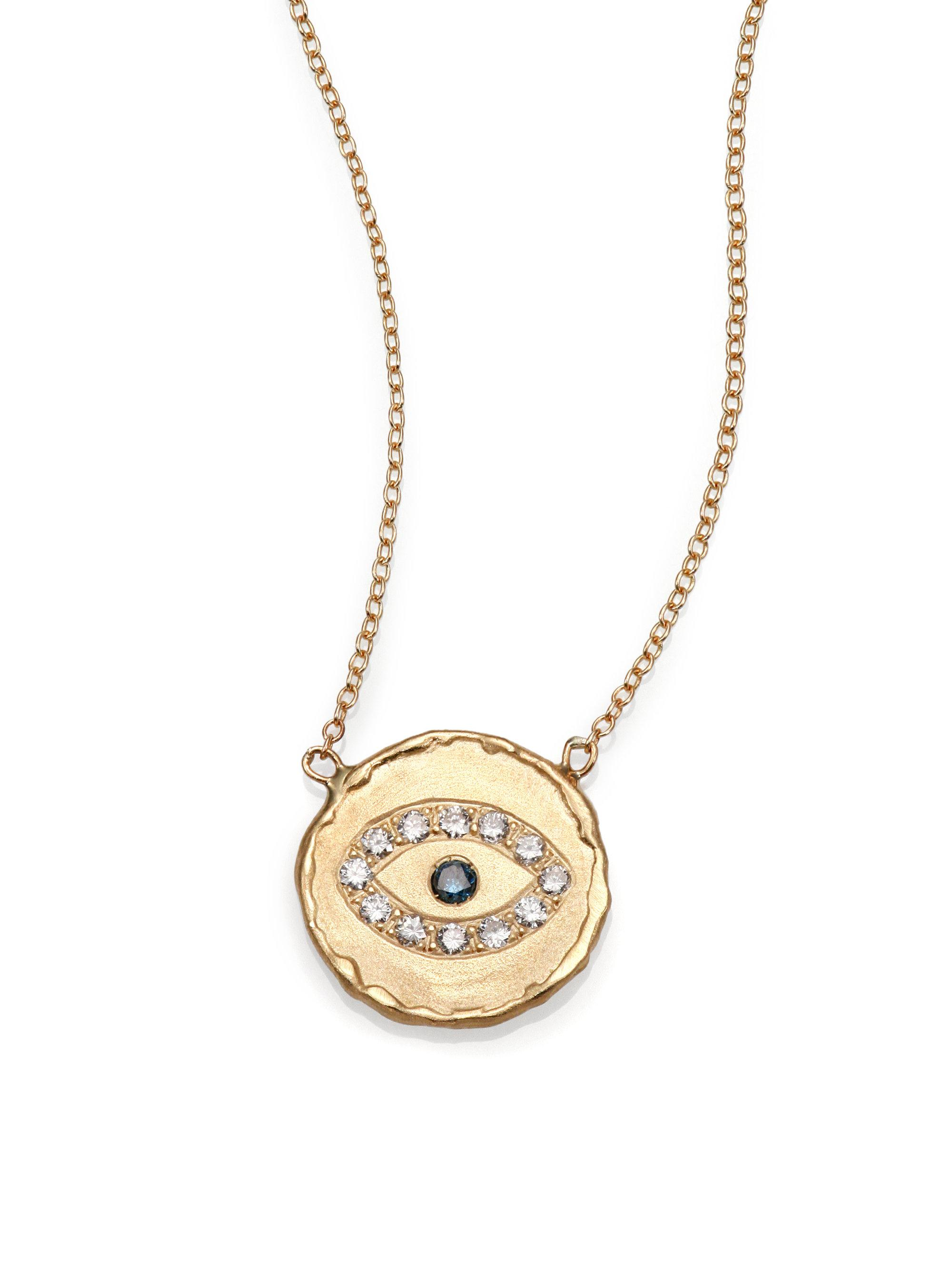 p necklace gold yellow hammered disc htm