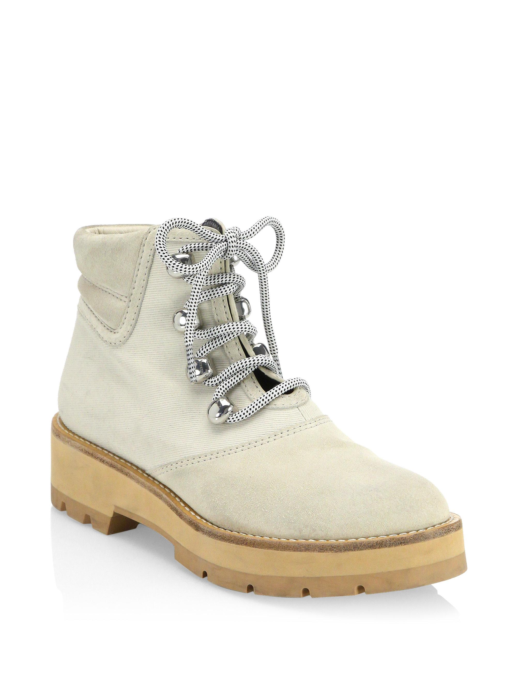 very cheap cheap online free shipping extremely 3.1 Phillip Lim Beige Dylan Hiking Boots cheap discounts with mastercard cheap online cheap footlocker finishline 8Jaqpb