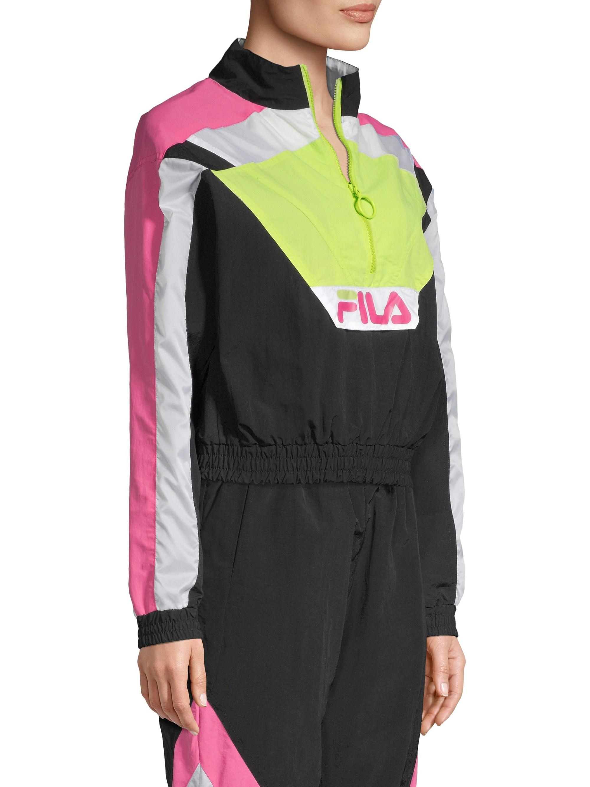 19e4d9a07de1 Fila Conchita Half-zip Wind Jacket - Lyst