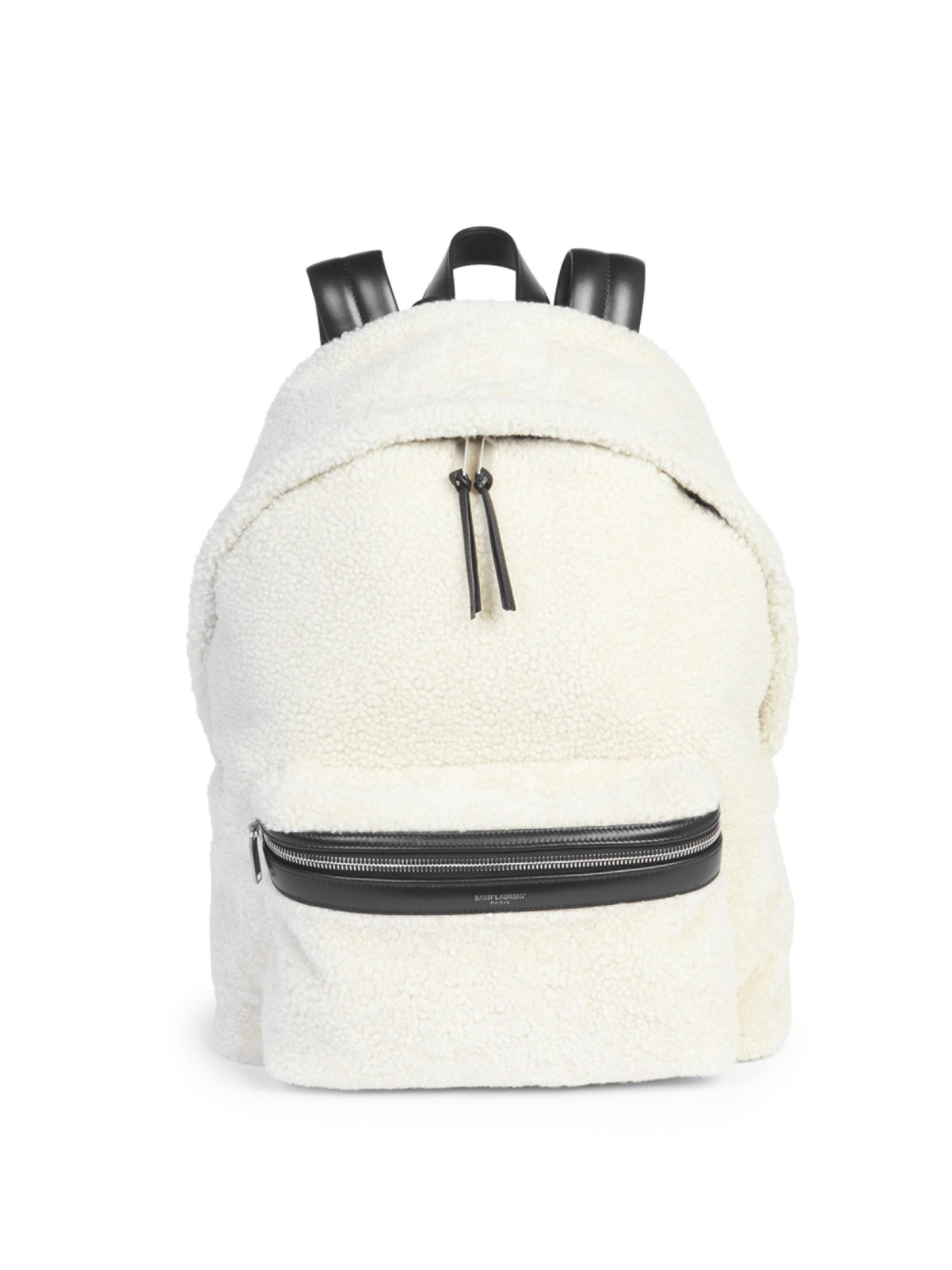 d26e3b28d47 Lyst - Saint Laurent Classic Zip City Backpack in Black for Men