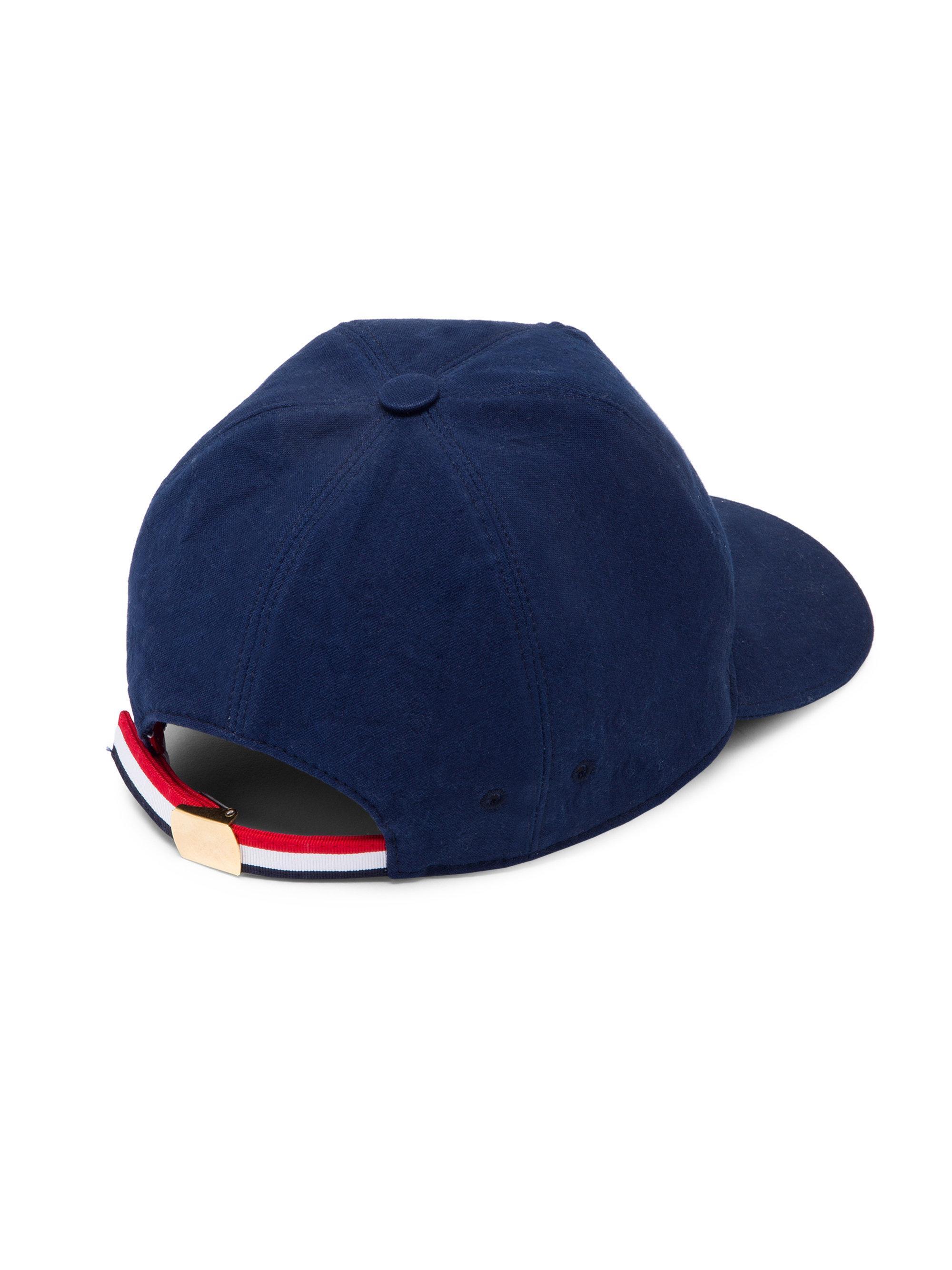 Lyst - Thom Browne Dog Five-panel Baseball Cap in Blue for Men da18653f2d71