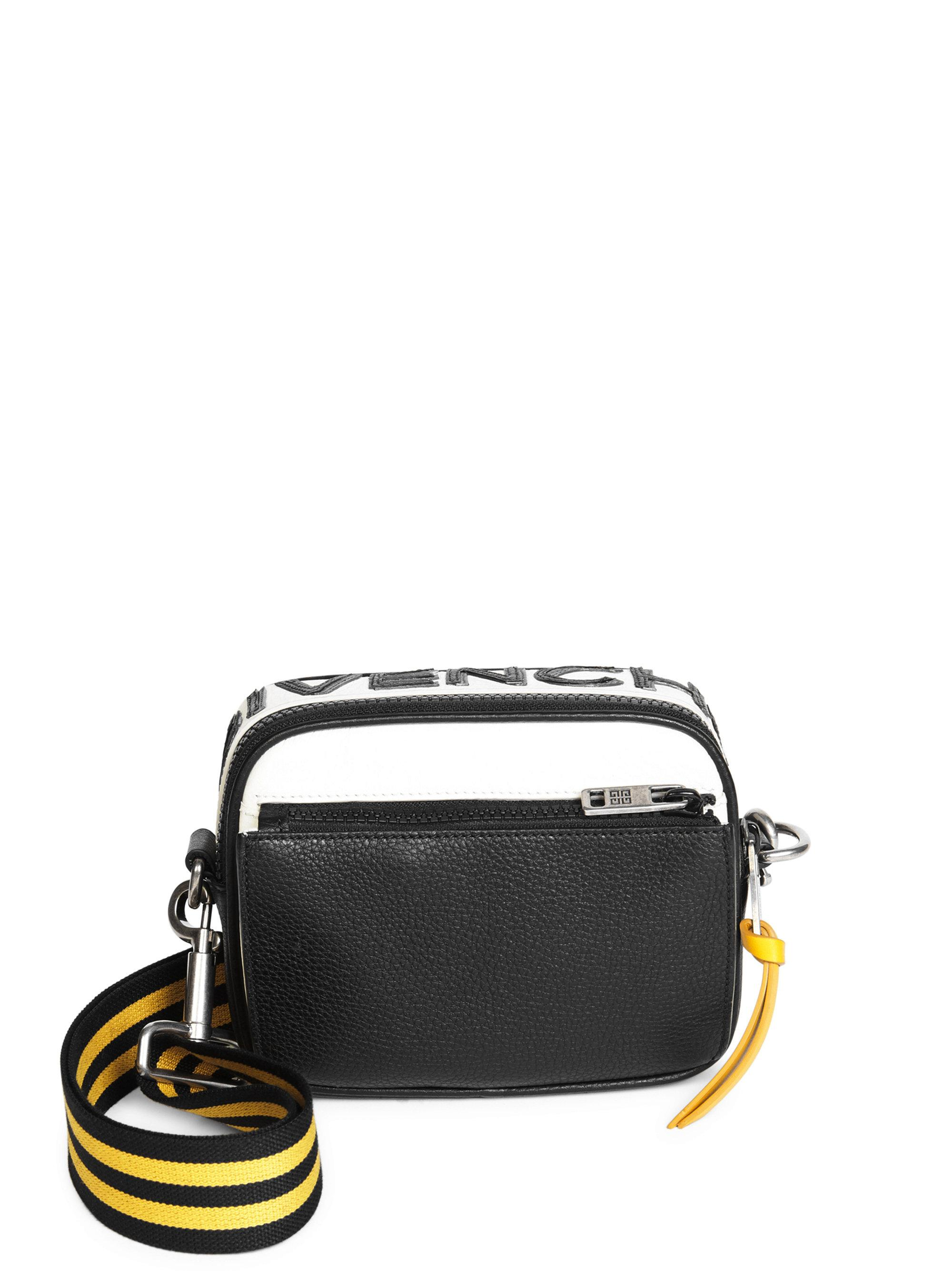 Givenchy Colorblocked Leather Crossbody Bag in Black for Men - Lyst c13ba030b6
