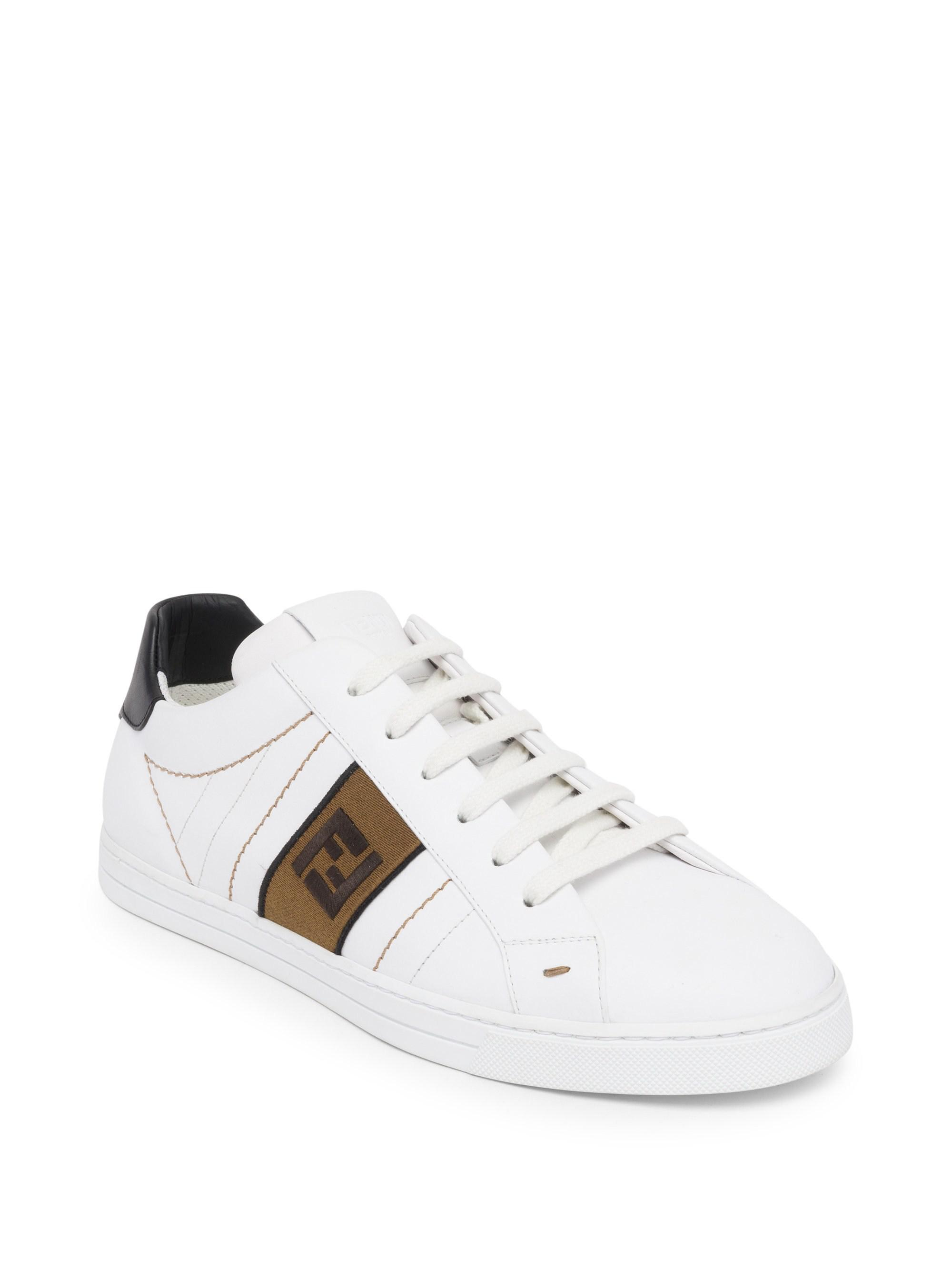 FendiFF Embroidered Sneakers