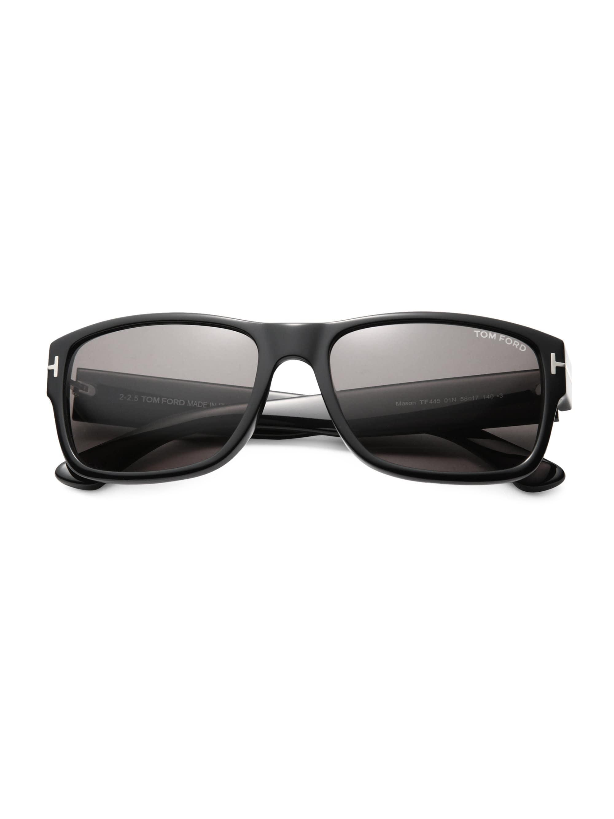 af674630a680 Lyst tom ford mason rectangular sunglasses in black for men jpg 2000x2667  Mason tom ford