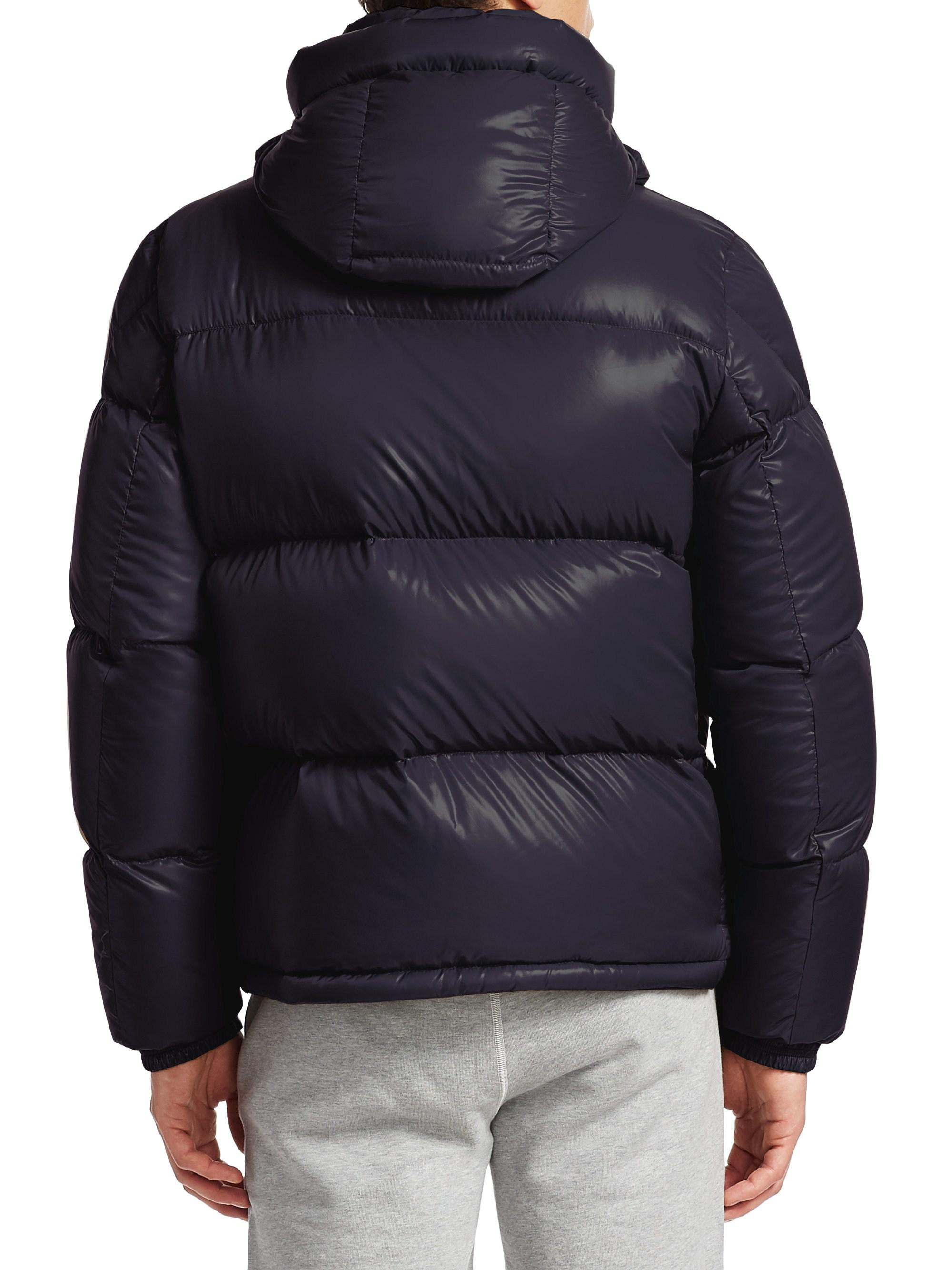 41da9bca3e1e Lyst - Moncler Montbeliard Puffer Jacket in Blue for Men