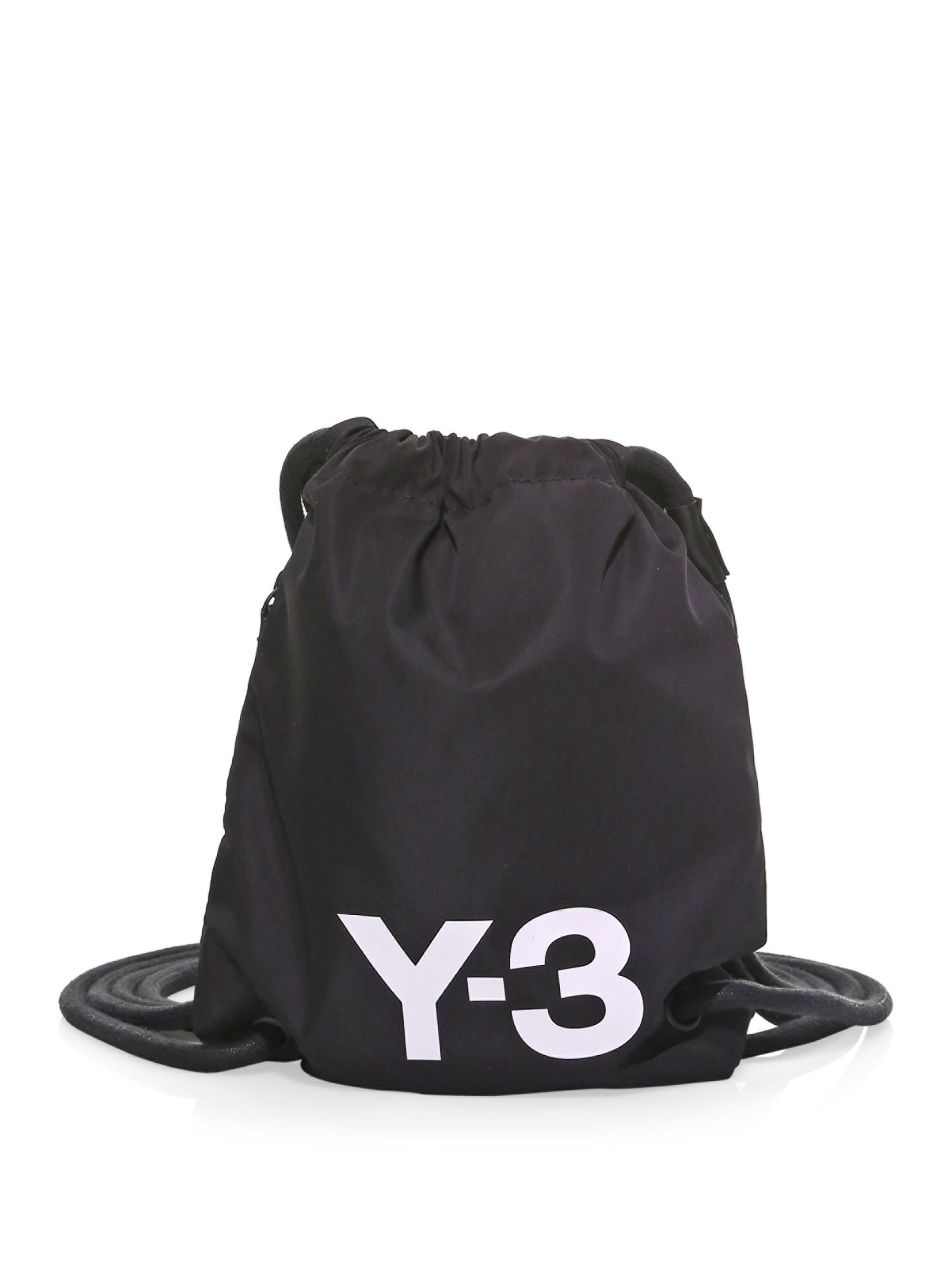 Y 3 Men S Black Mini Gym Bag