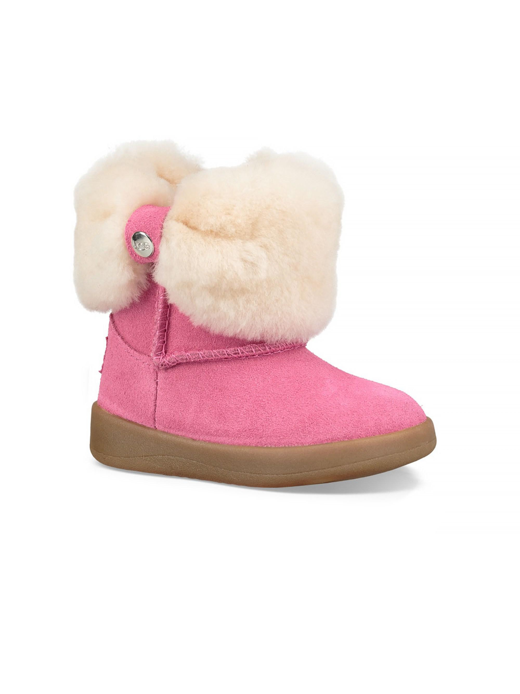 c7686f6407ef UGG Baby Girl s Ramona Suede Boot in Pink - Lyst