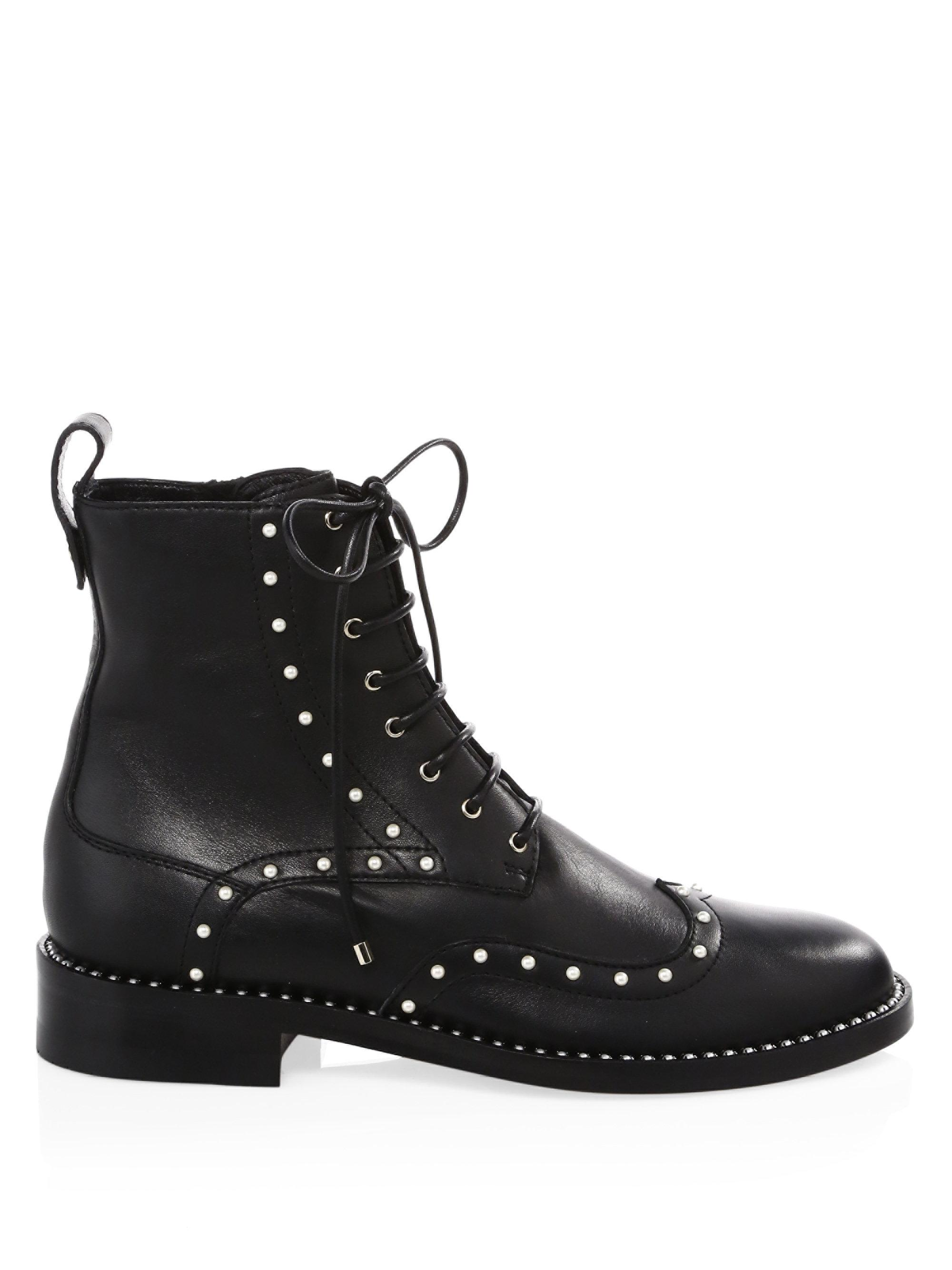 Jimmy choo Hanah Studded Oxford Boots rQnIkxtYZN