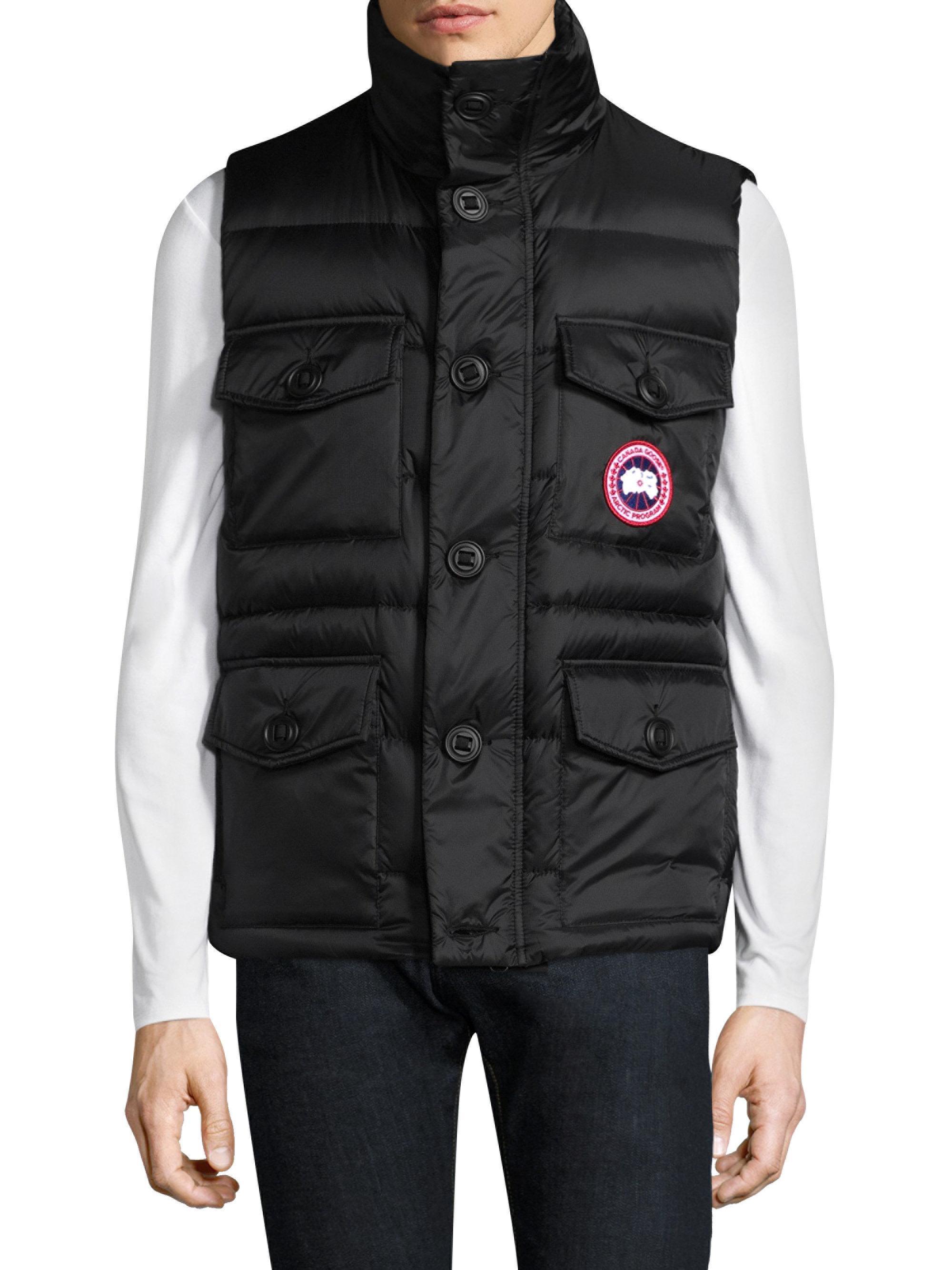 canada goose benedict vest