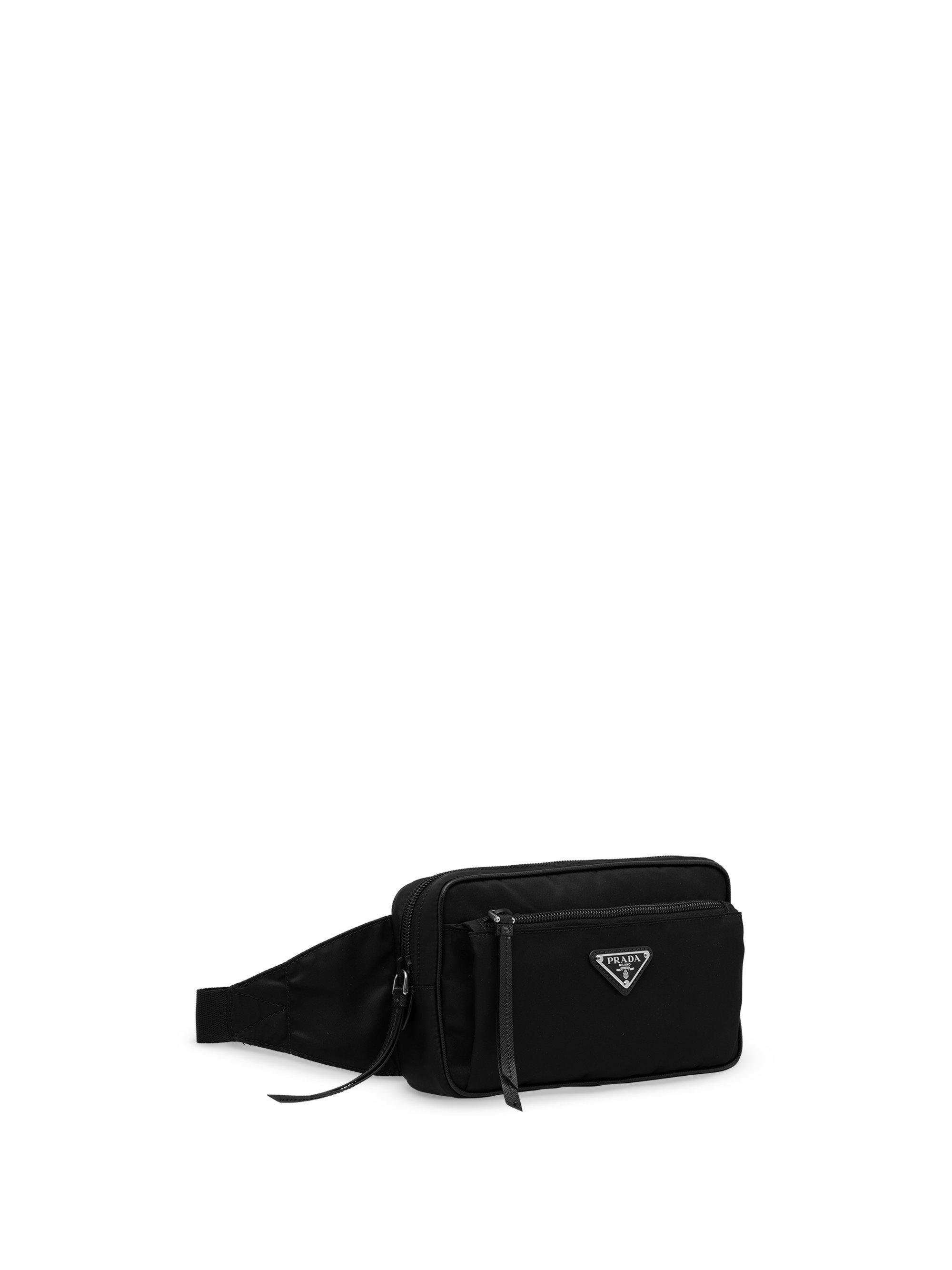 ... cheap prada black nylon belt bag lyst. view fullscreen 876b2 73d48 ba3935f1985b6