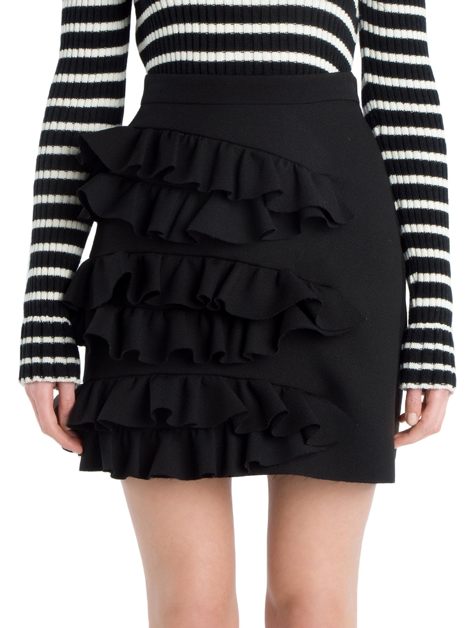 ruffled mini skirt Msgm JE9orlQv6T