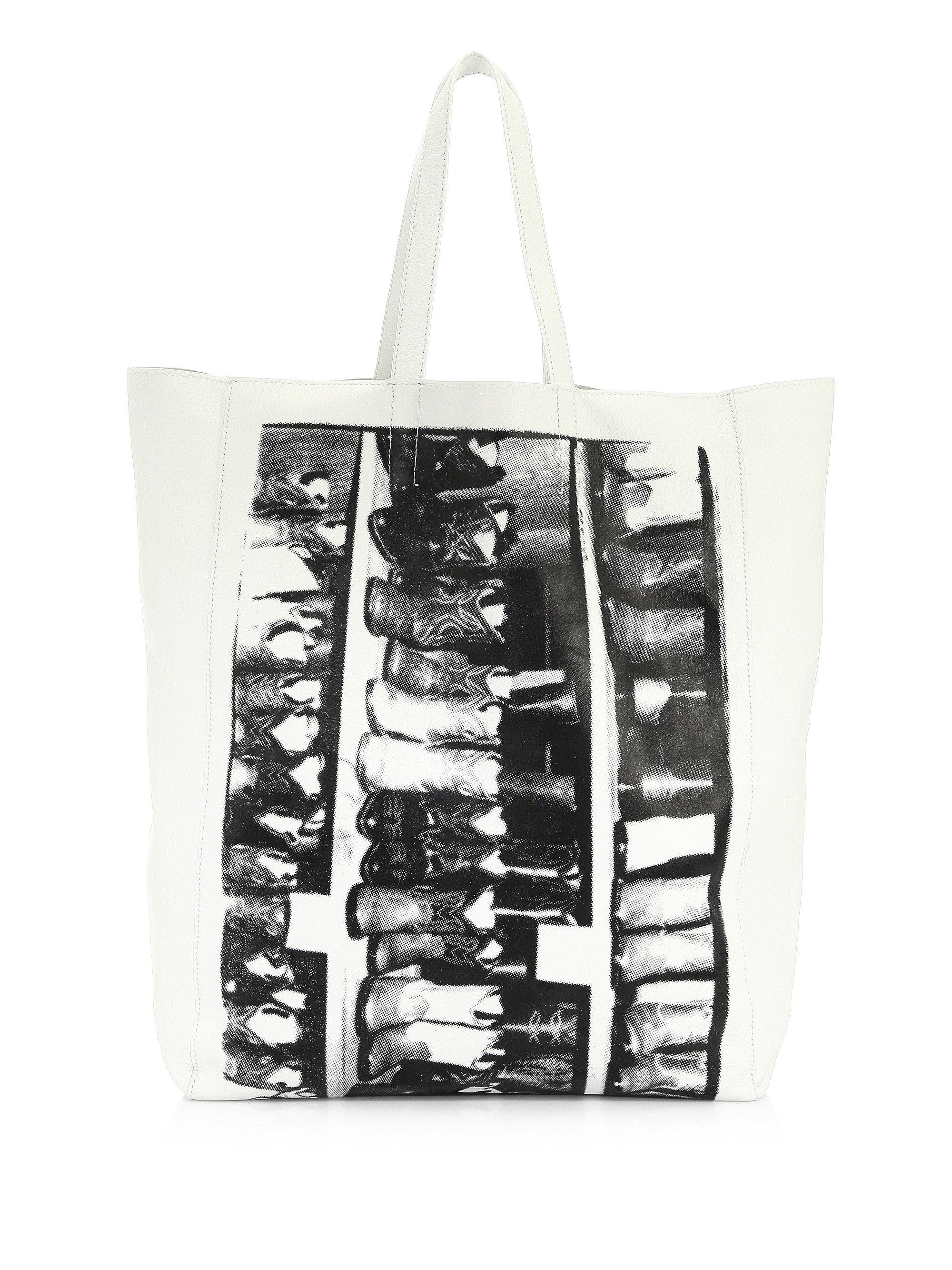 White Soft Andy Warhol Tote CALVIN KLEIN 205W39NYC 0HQGRUA