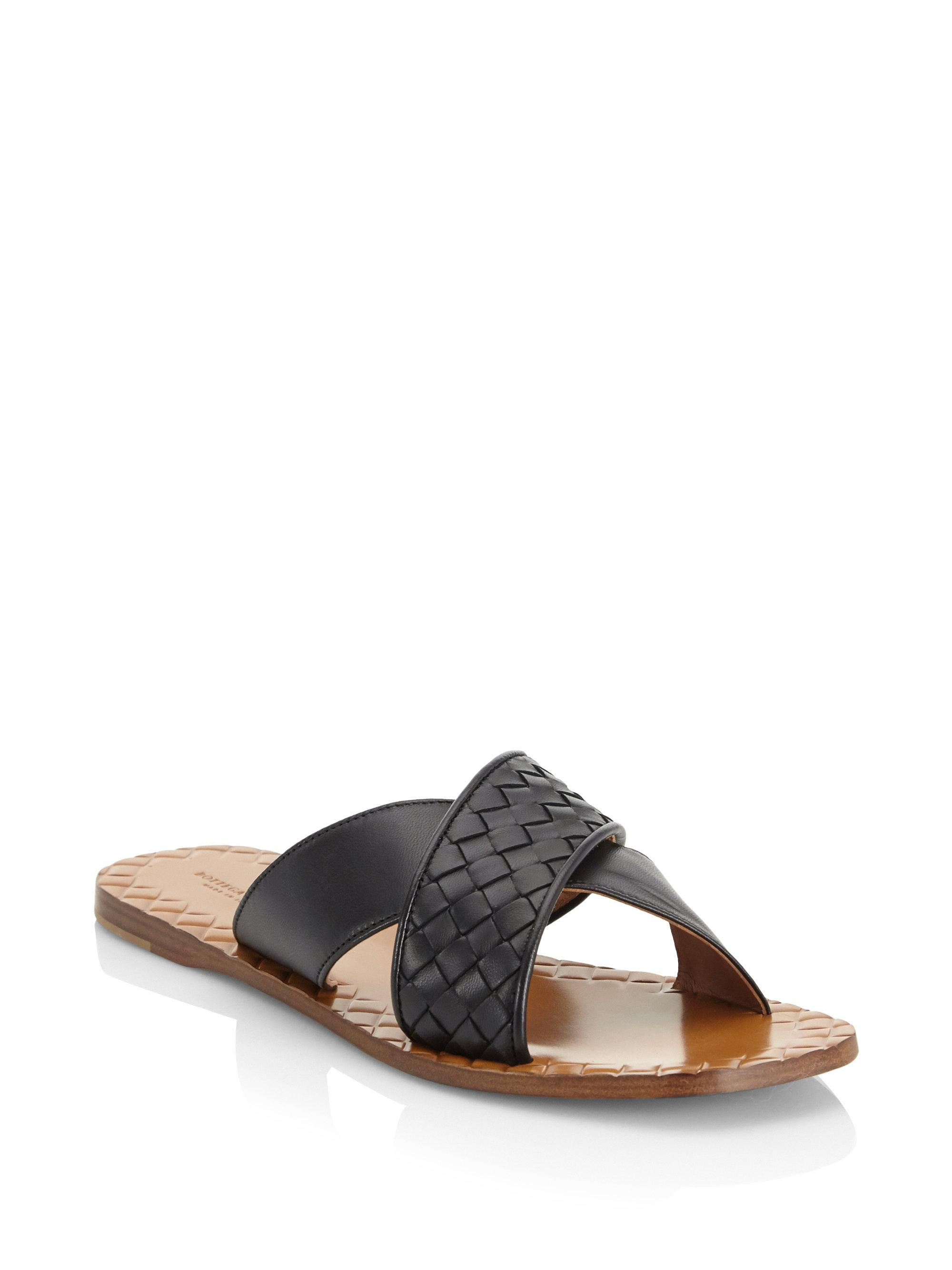 6b3b4220f Ayer sandals woven leather Veneta Bottega q4UHnwCrqT - thematically ...