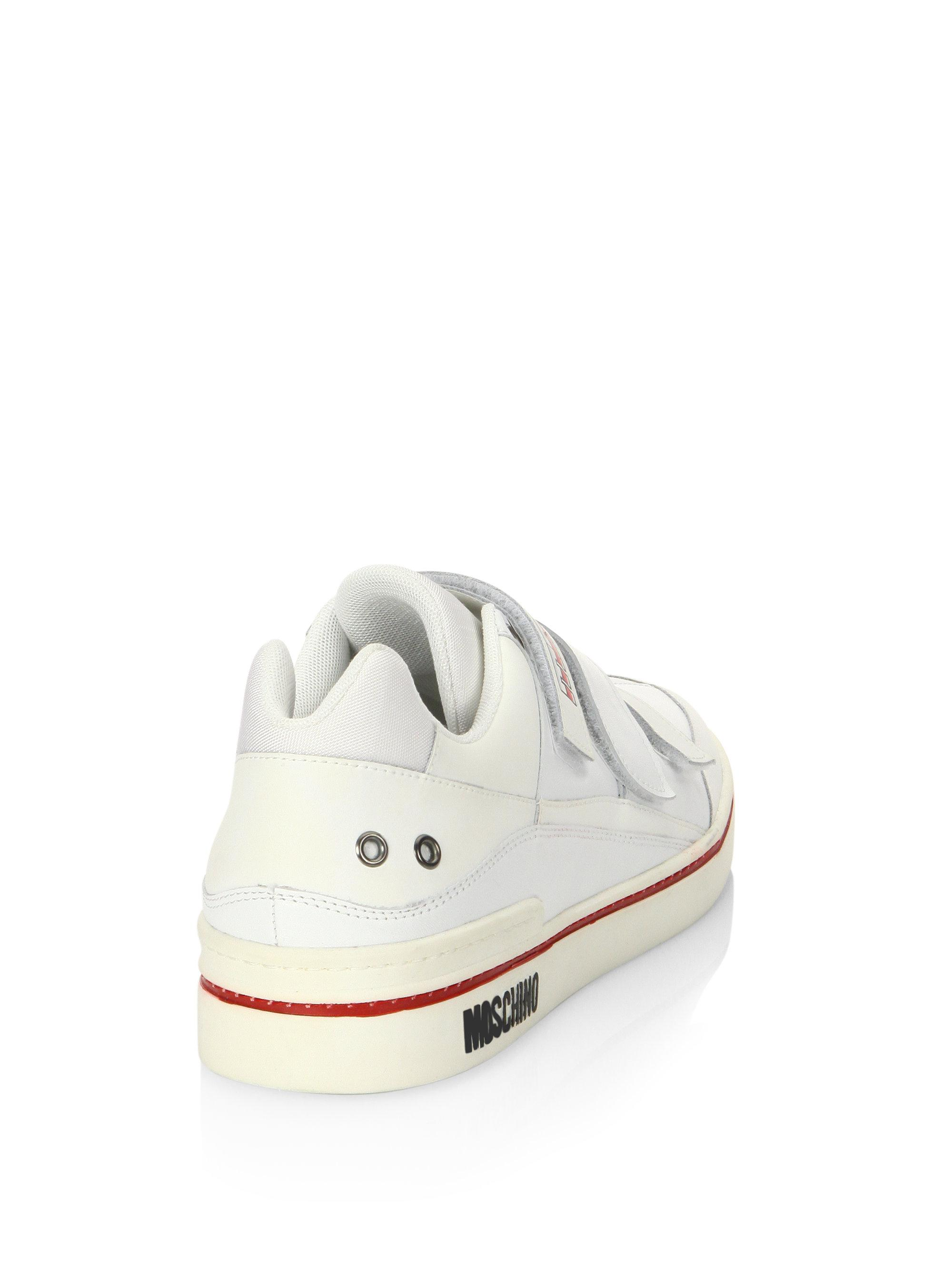 MoschinoLow-Top Grip-TapeSneakers agXHWVcA
