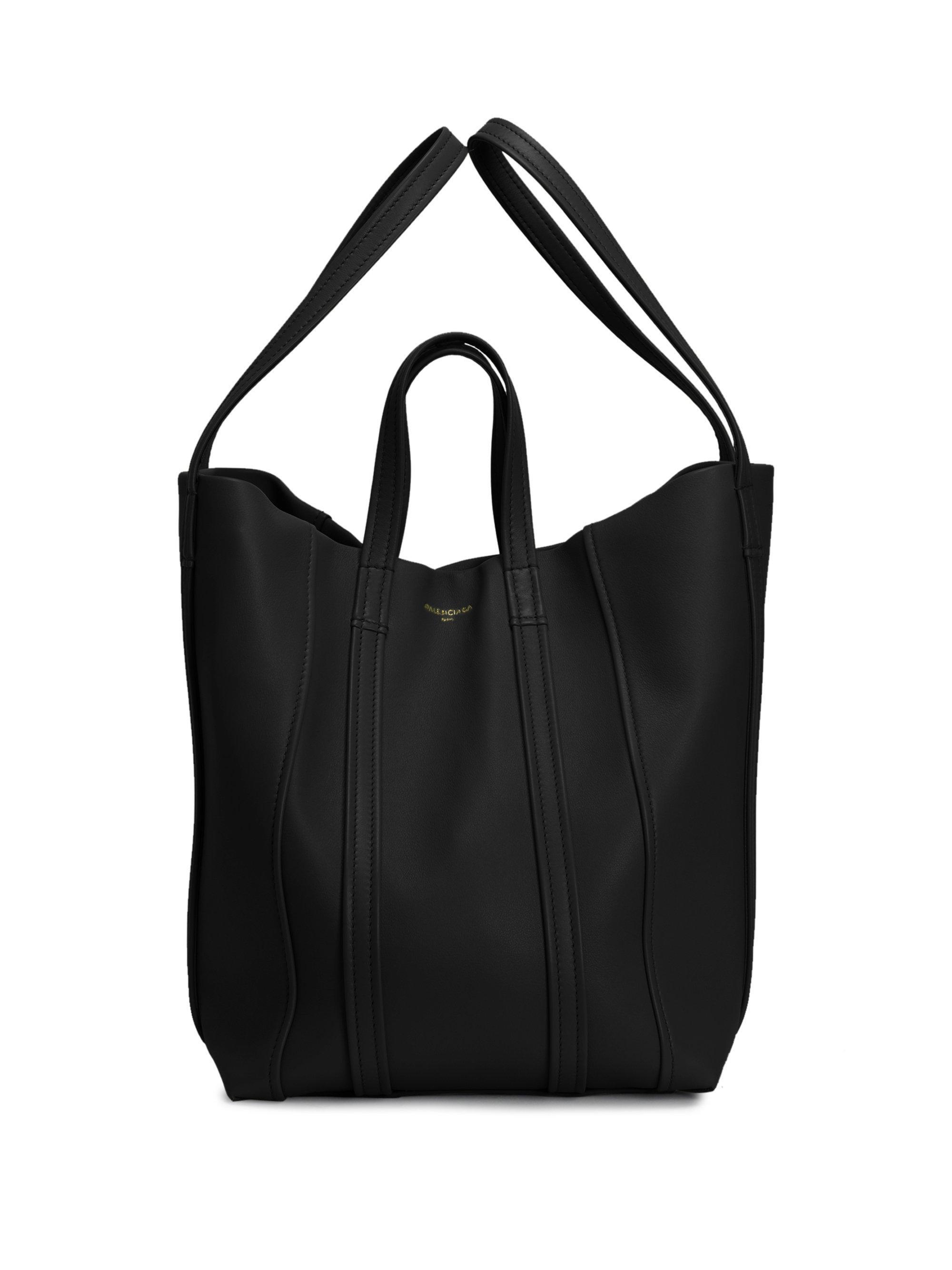 Balenciaga Laundry Cabas Extra Small Leather Tote Bag XJYZSVAdz