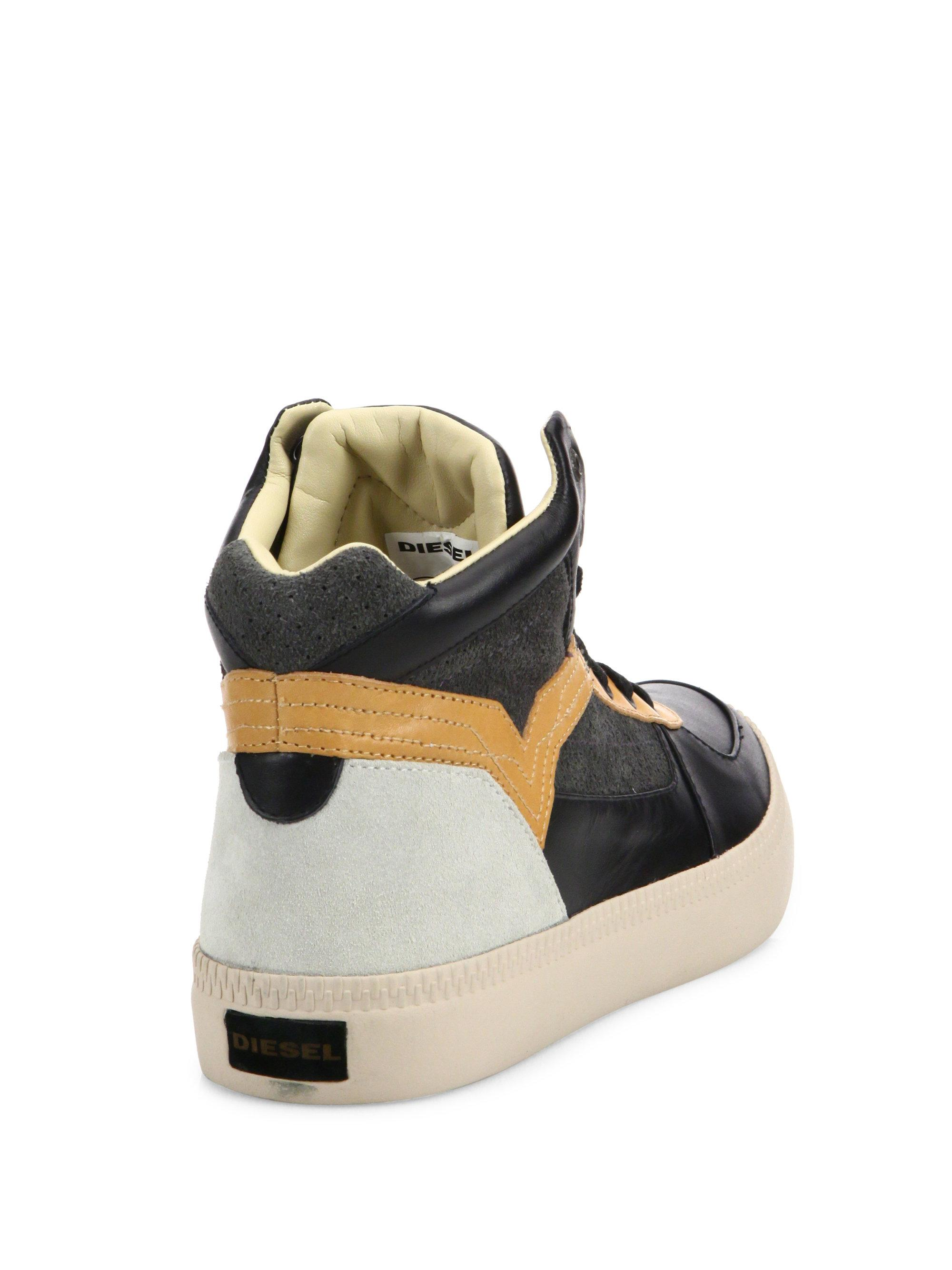 Diesel Spaark High-Top Sneakers 8UdhS84l4