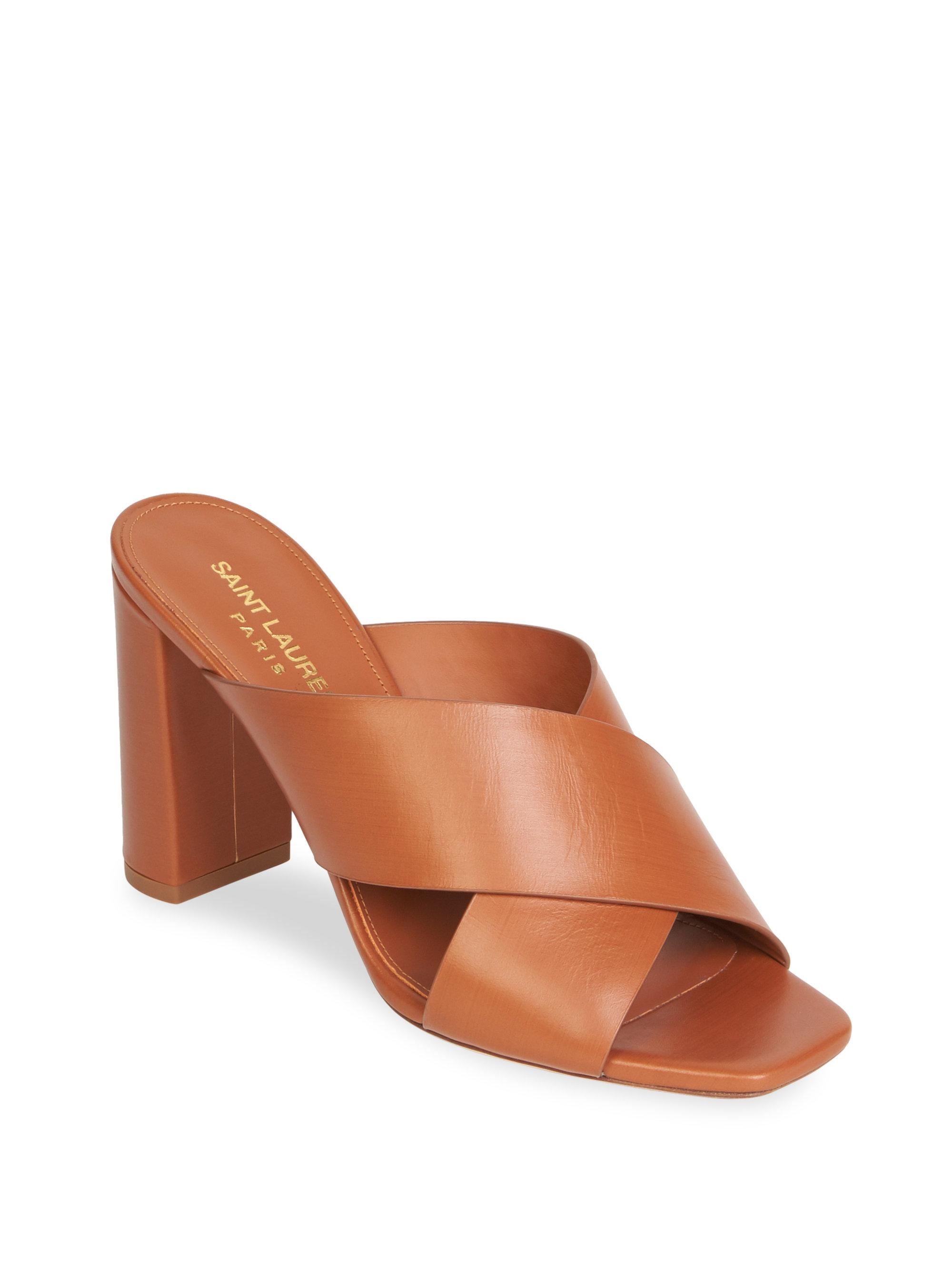 Saint Laurent LouLou 50 mules new styles cheap online collections cheap online clearance good selling 2014 unisex online 8bCqJ