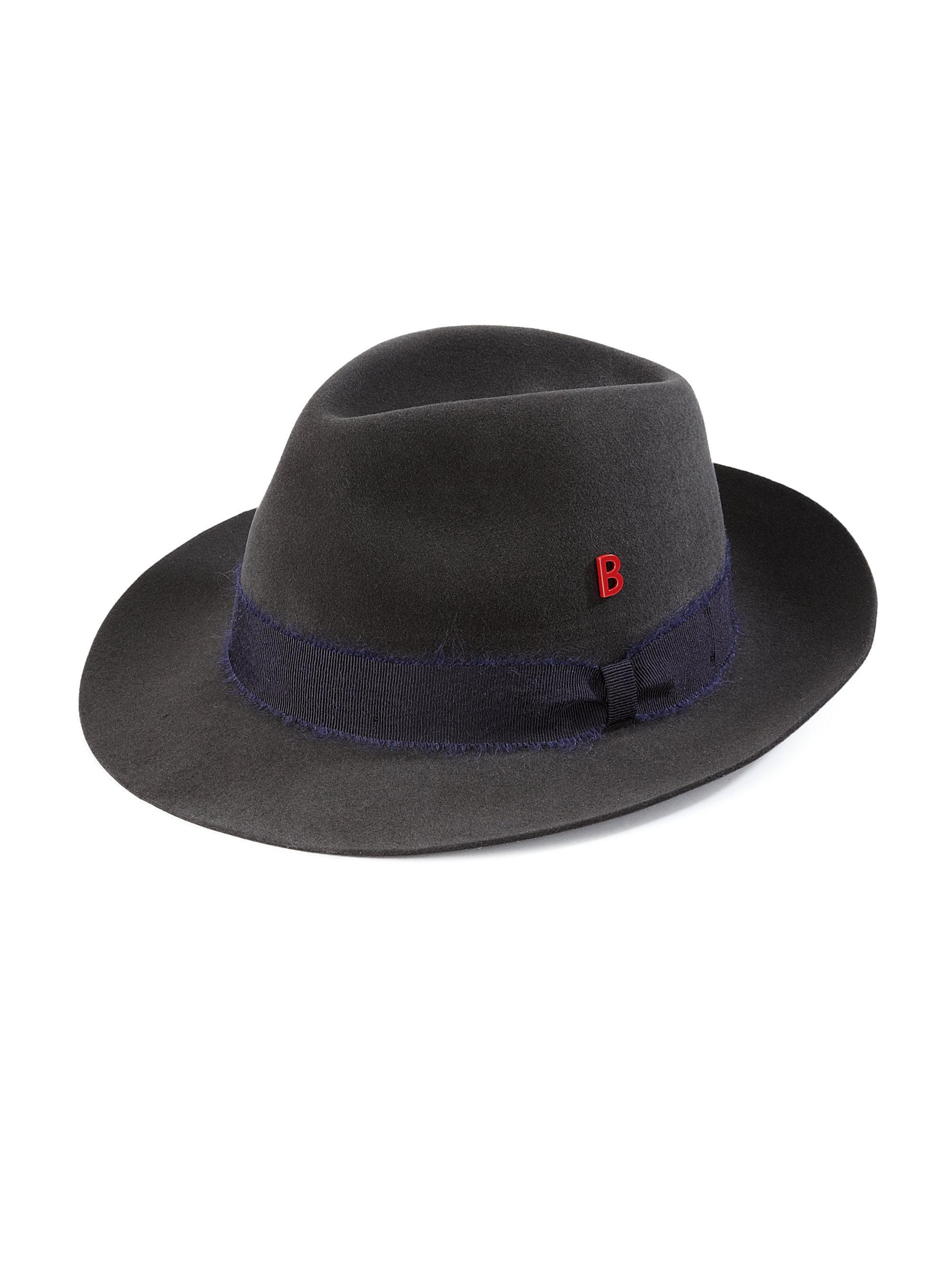 b0b91c22913c4 Lyst - My Bob Tribeca Fedora in Black for Men