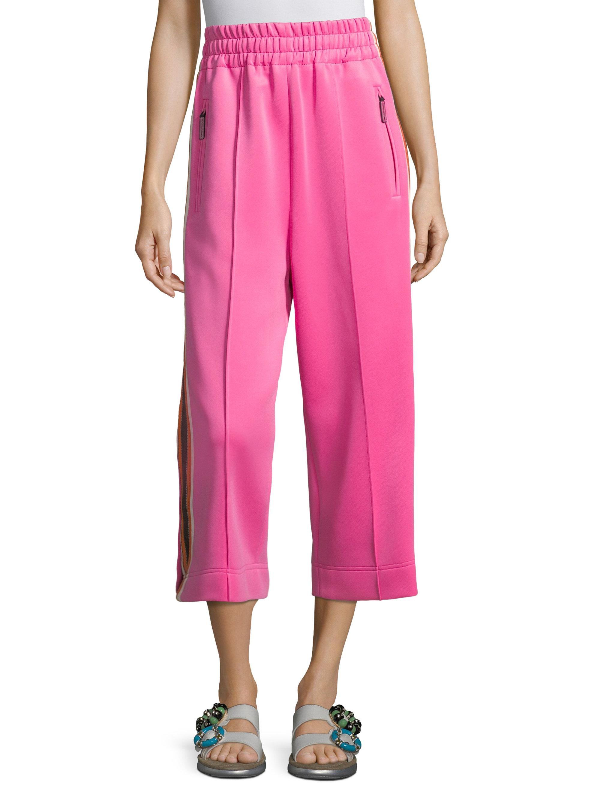 cropped track trousers - Pink & Purple Marc Jacobs hHQCB