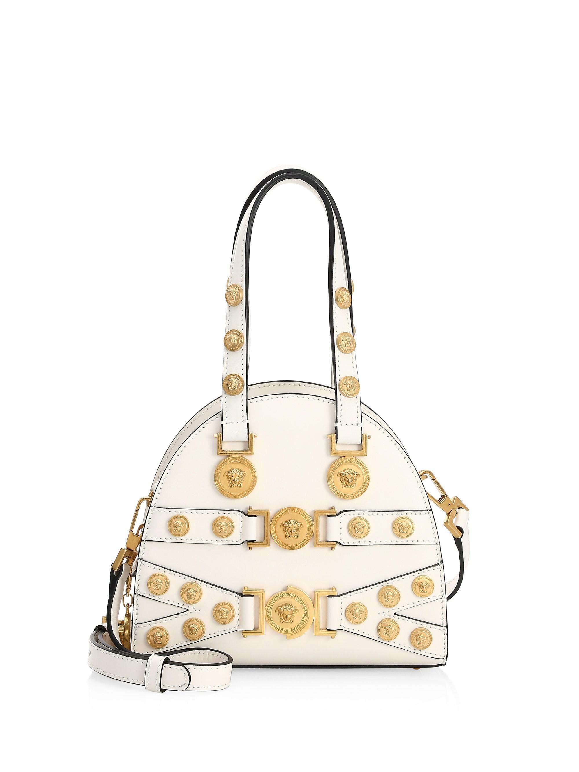Versace. Women s Small Tribute Medallion Handbag eade3a85488b6