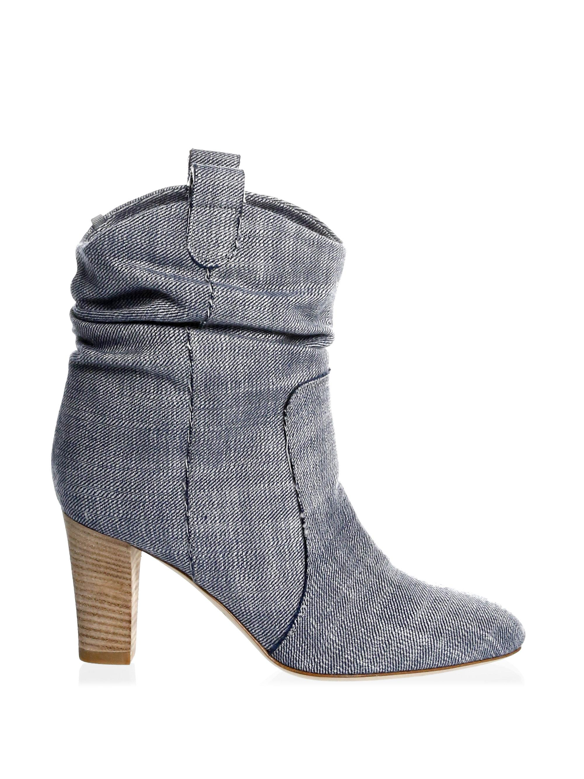 Sjp Sloan Denim Booties