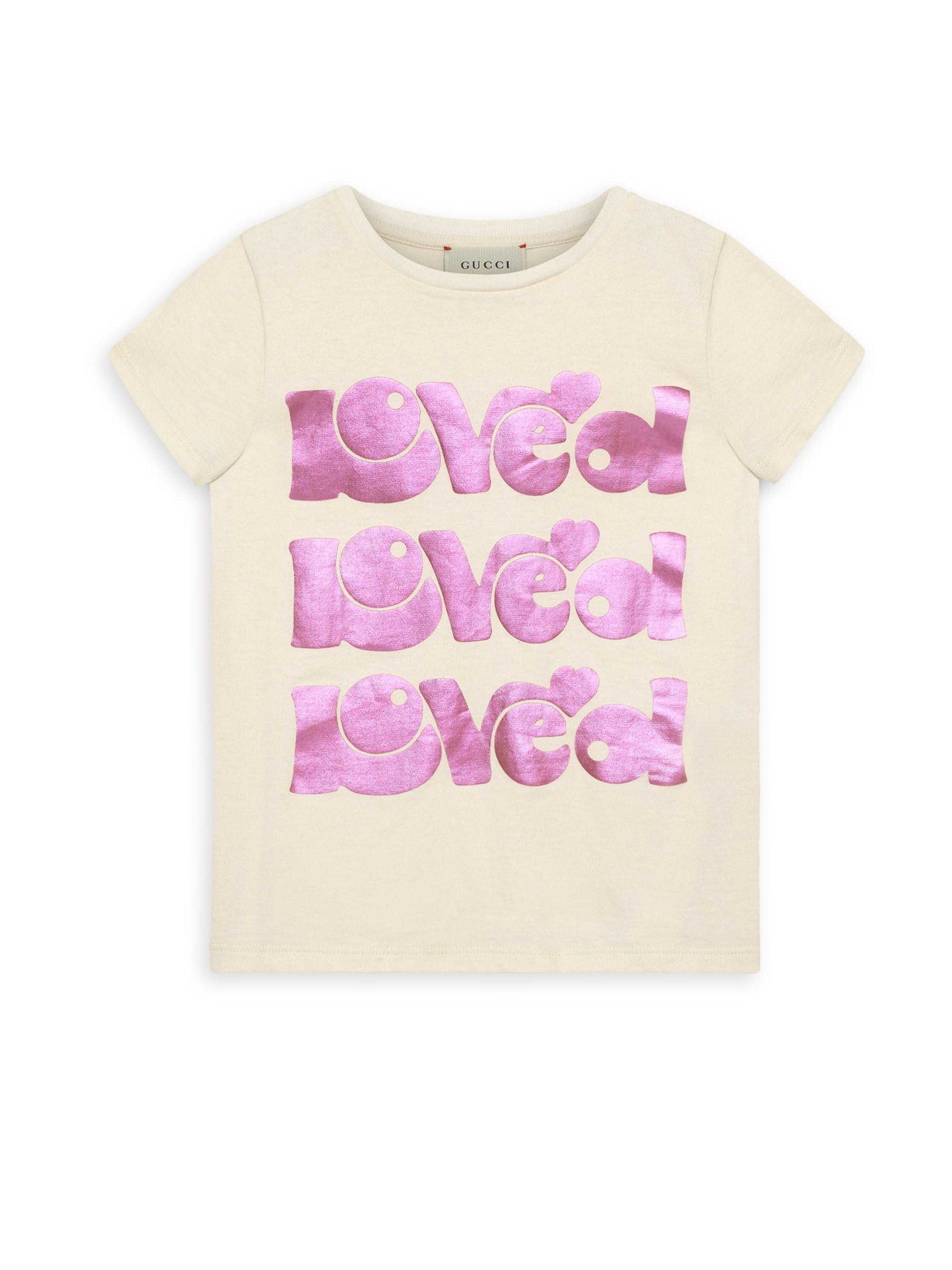 587c534c999d Lyst - Gucci Baby Girl's & Little Girl's Printed Short-sleeve Tee