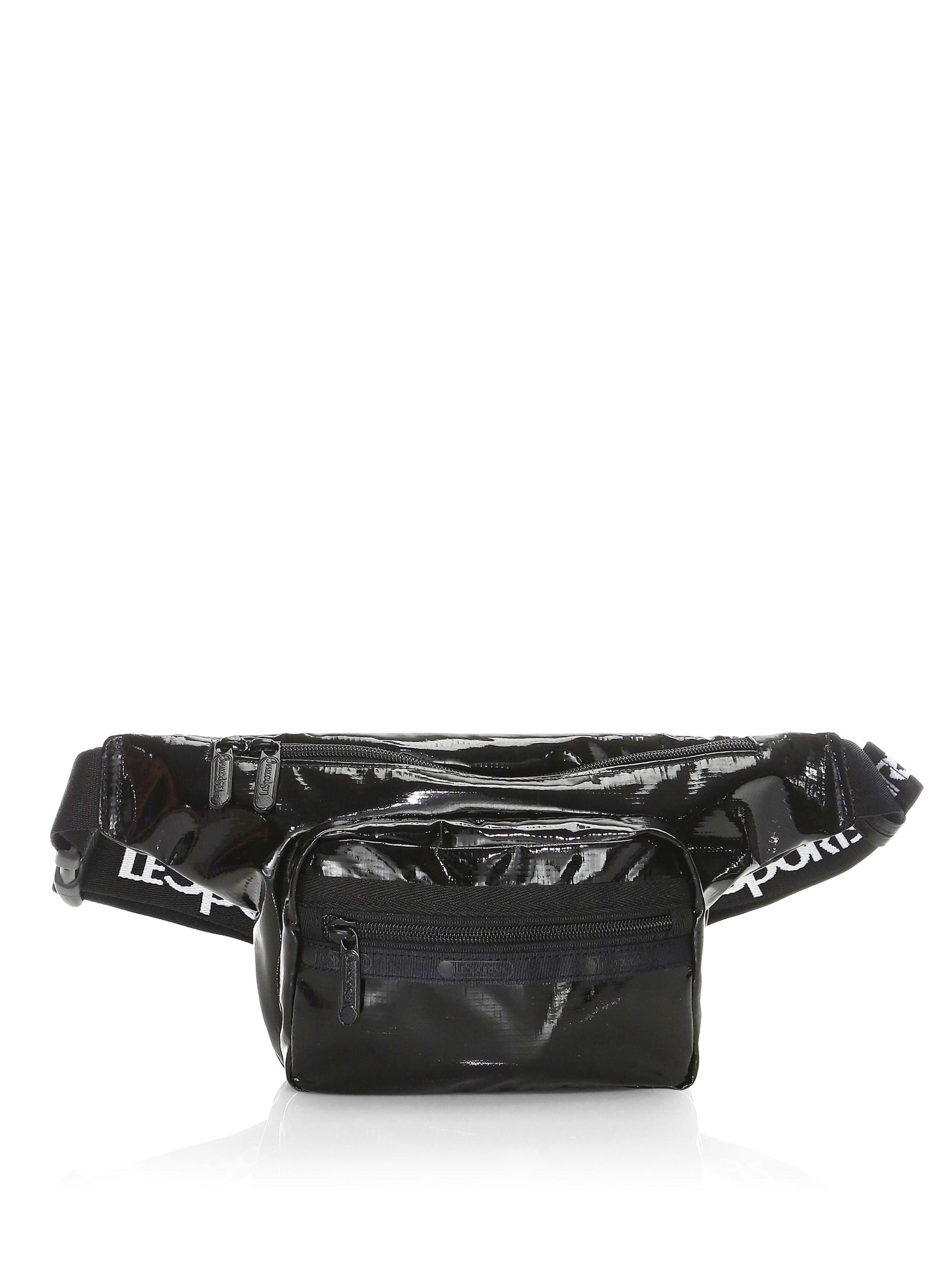 Lesportsac Women S Black Montana Shiny Belt Bag