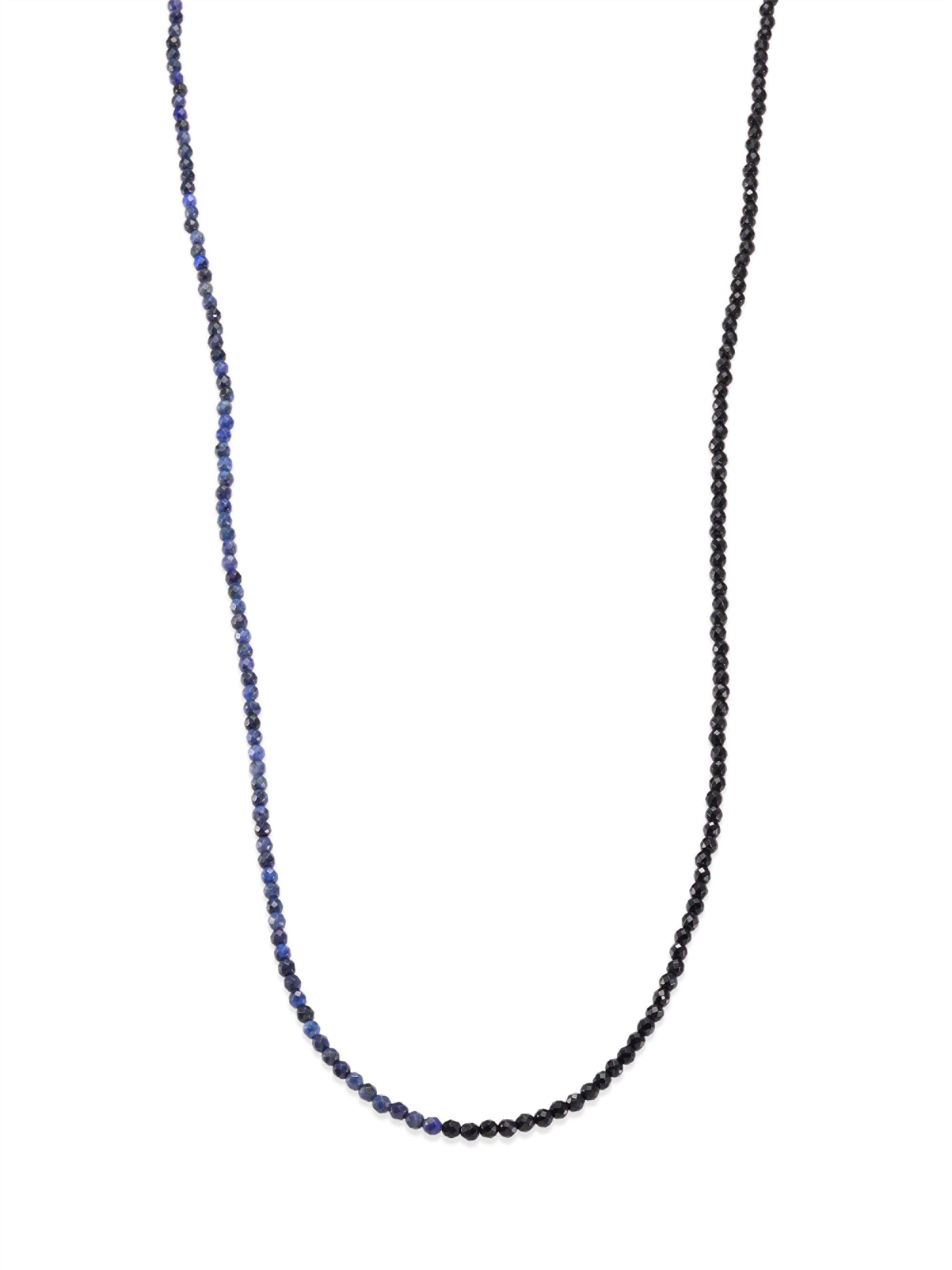 Brunello Cucinelli Variegated Wrap Lariat Necklace 8PVK9AB
