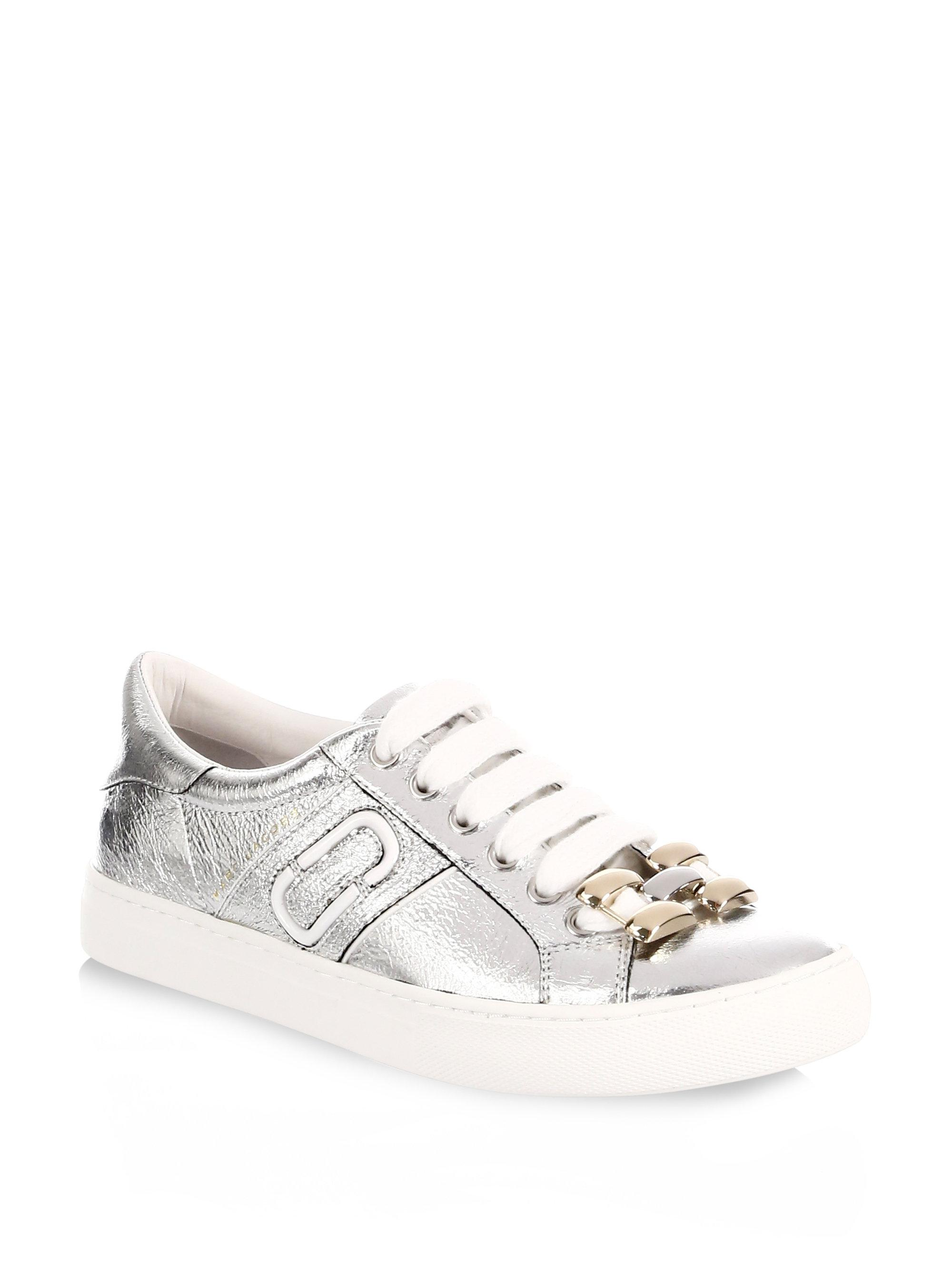 Marc Jacobs Women's Empire Chain Link Trainers - - UK 3 XtrV5Q4B