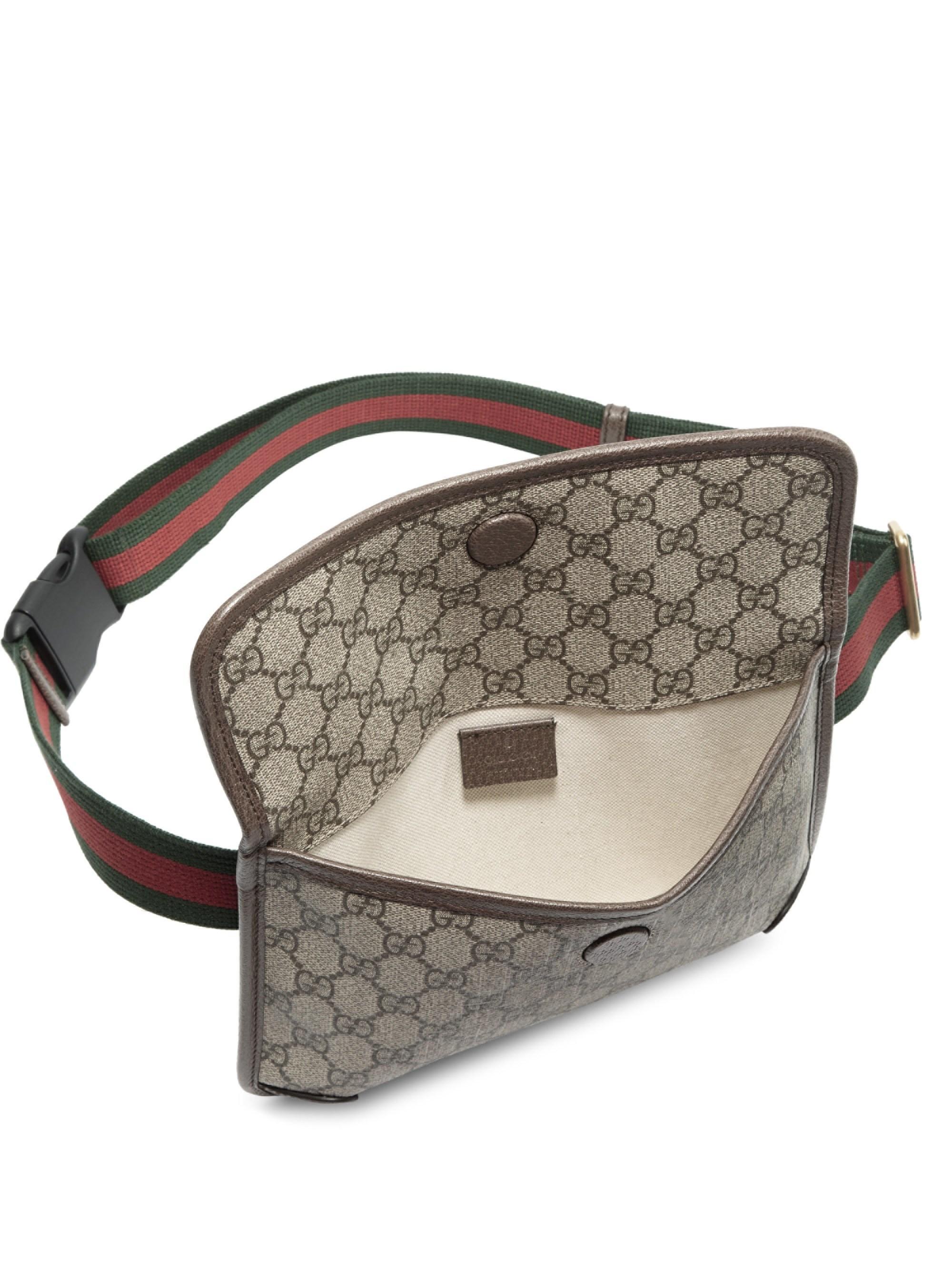 6edb4c0ac73 Lyst Gucci Women S Neo Vintage Canvas Belt Bag Beige In Natural