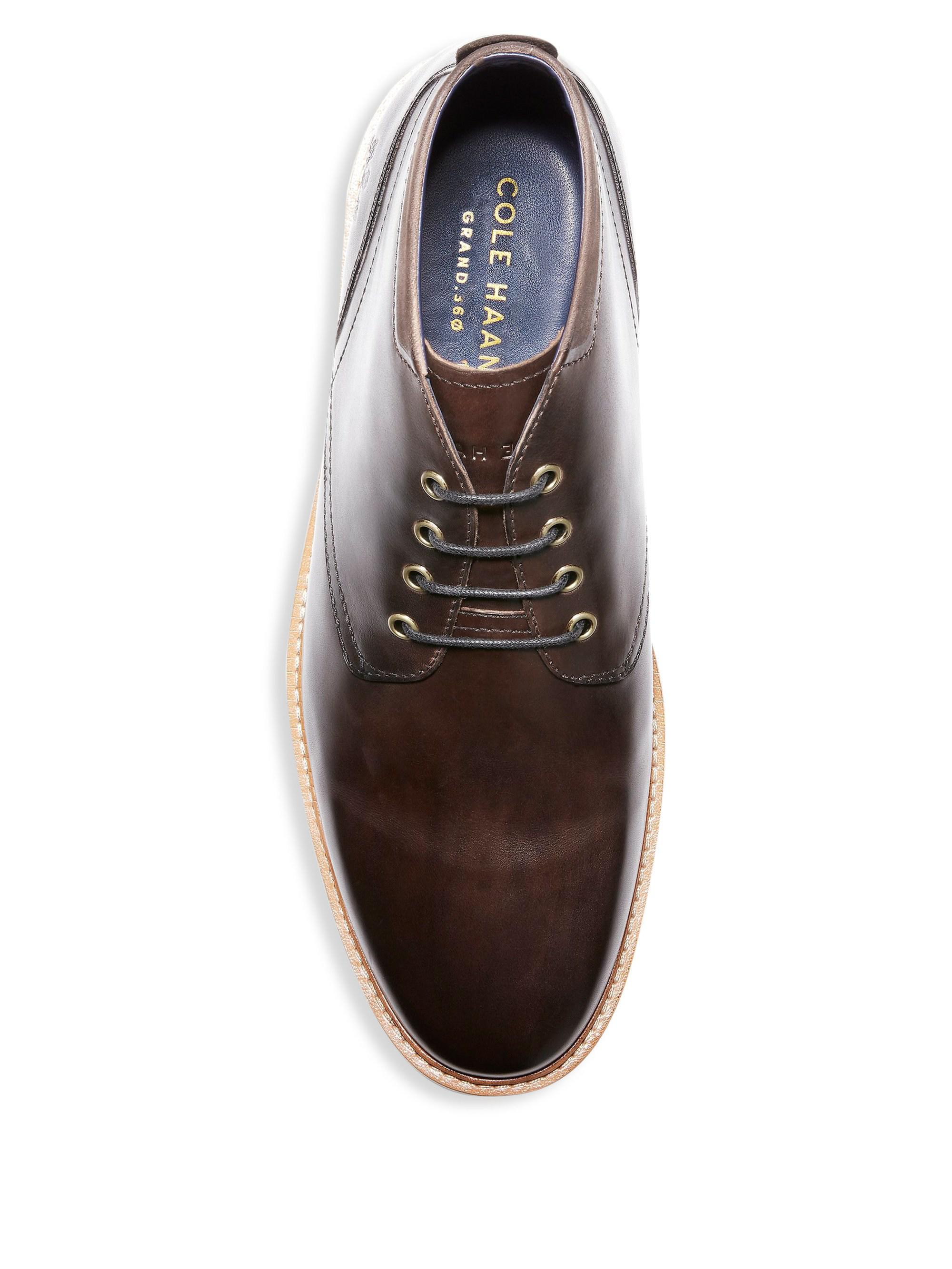 0e72949e487 Cole Haan Raymond Grand Chukka Boot in Brown for Men - Lyst