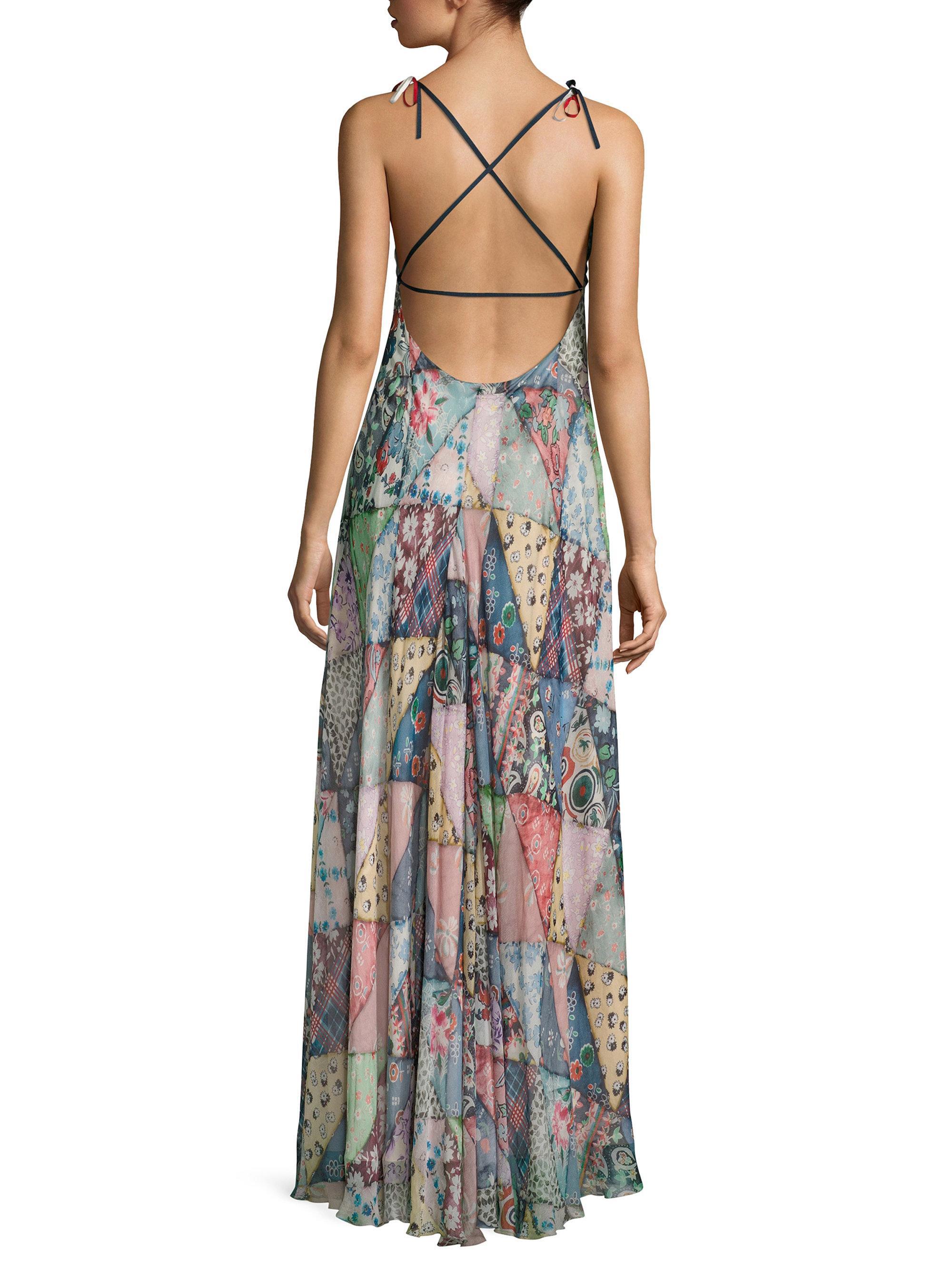 Lyst - Tommy Hilfiger Crossed Blanket Dress