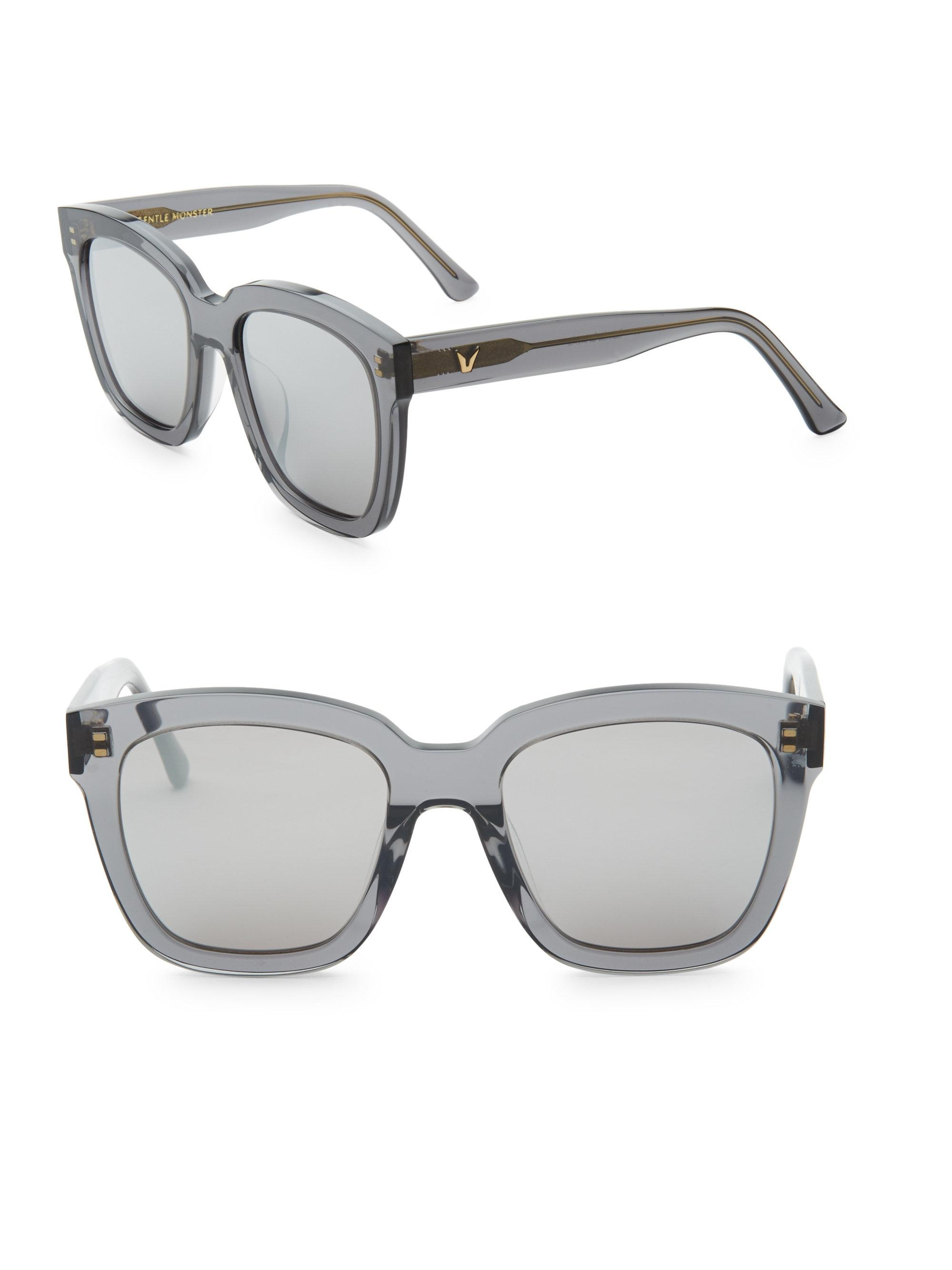 ec6ae906a35 Lyst - Gentle Monster Dreamer Hoff Ombre Square Sunglasses in Gray ...