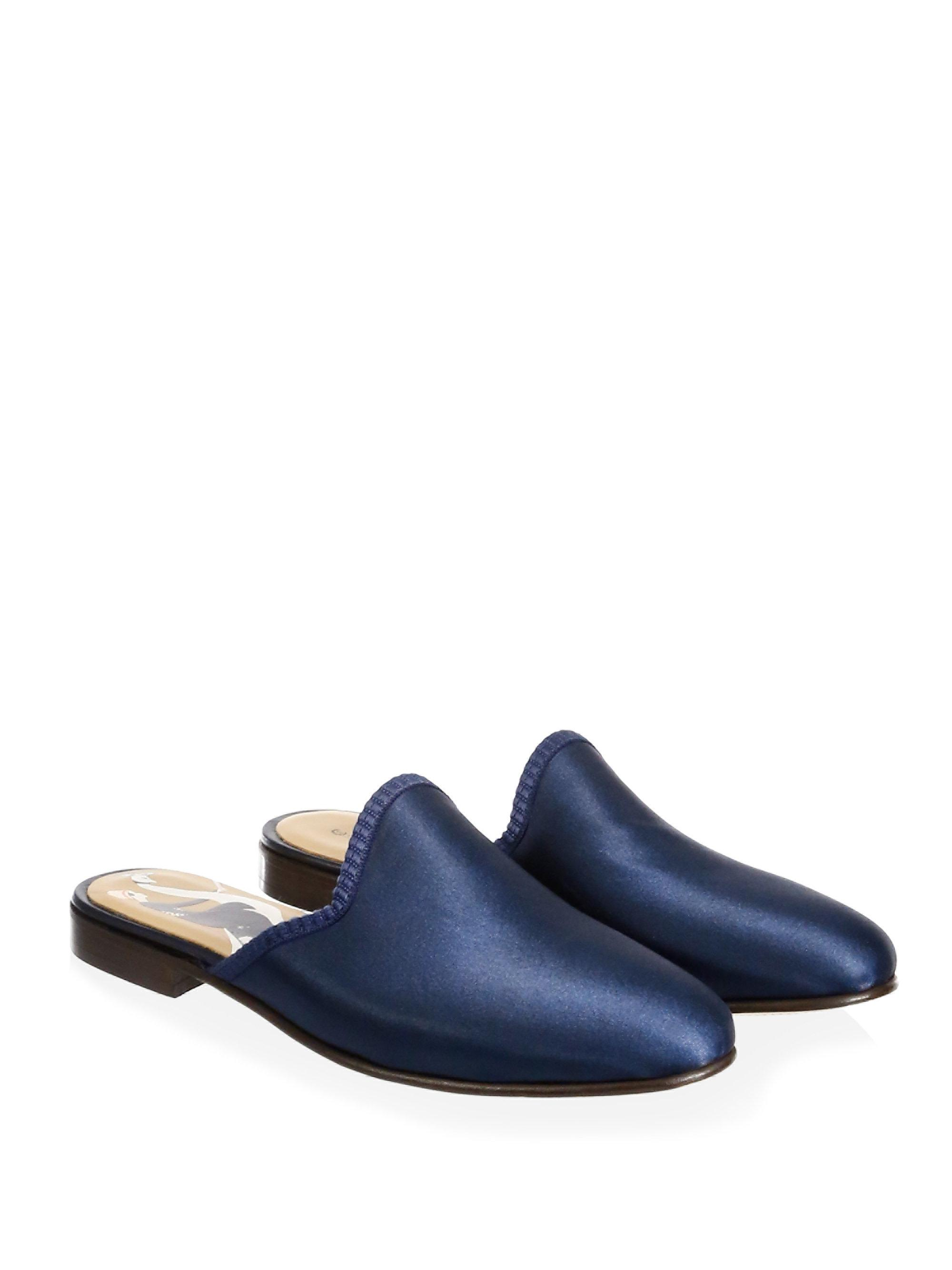 DEL TORO Vogue Satin Mules
