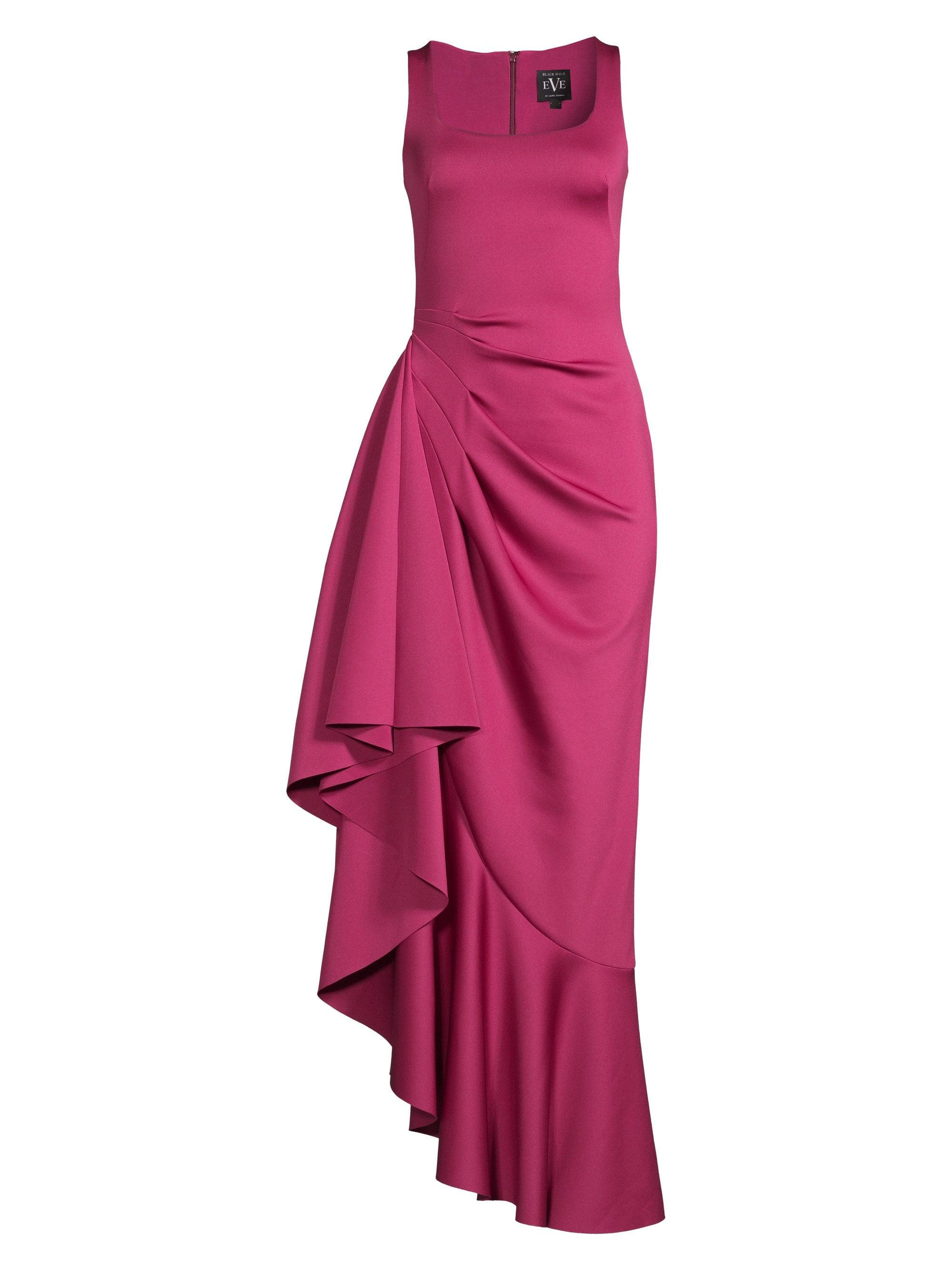 b0869d2e Black Halo Jewel Ruffle Gown in Pink - Lyst