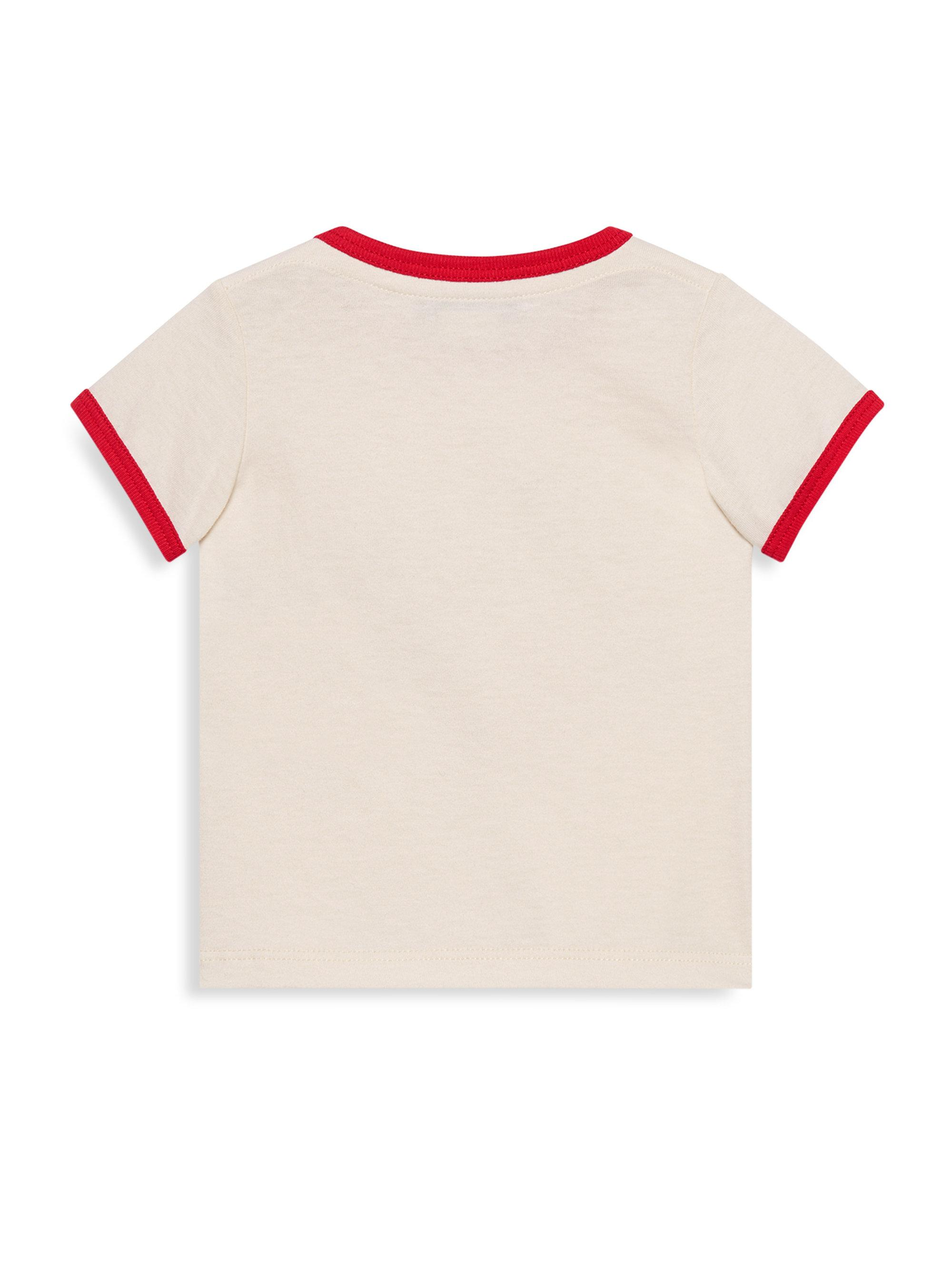46a7c90d3 Gucci Baby Girl's Strawberry & Rainbow Tee in Gray - Lyst