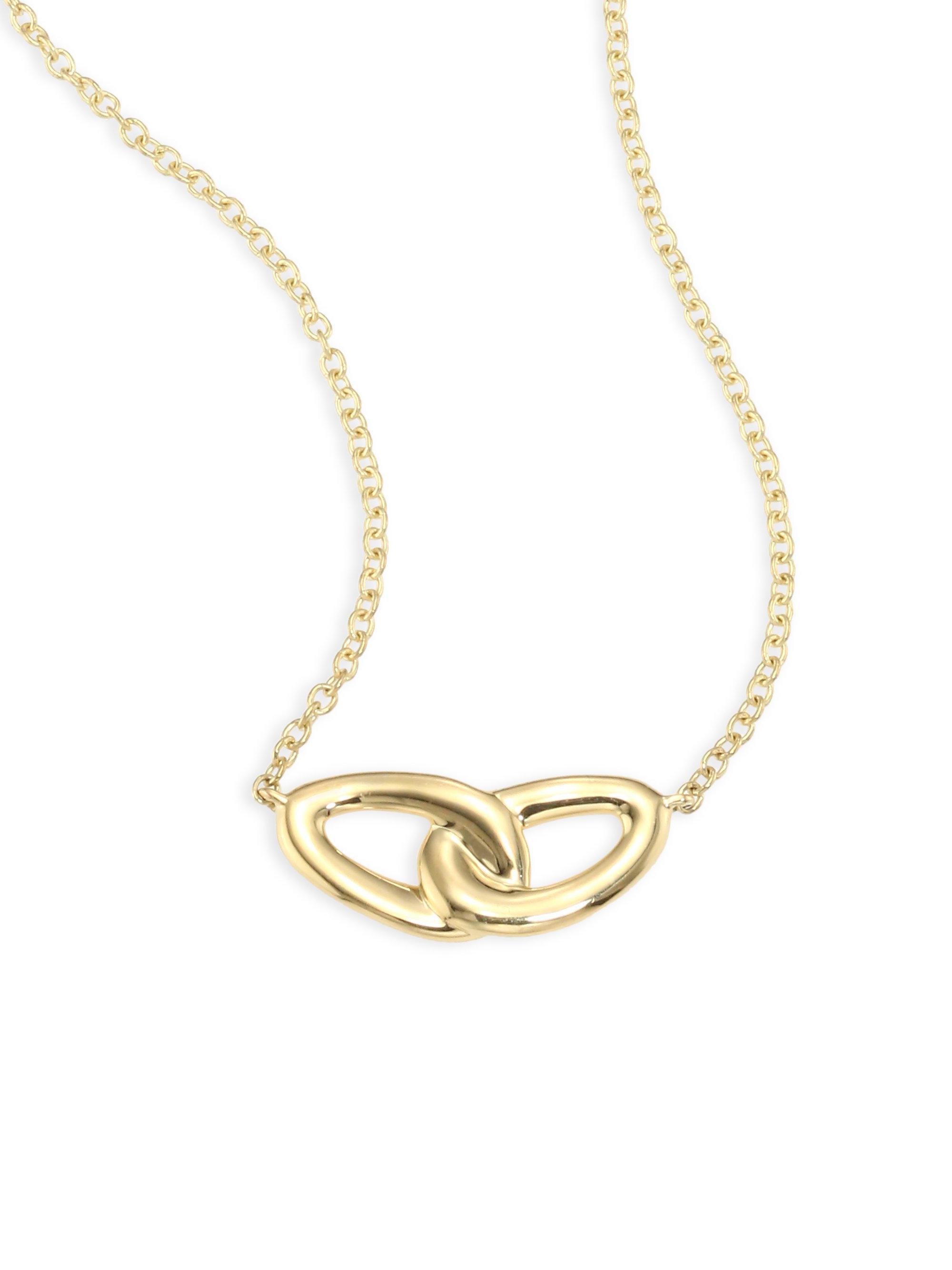 Ippolita 18K Cherish Link Necklace MwMeDd4s