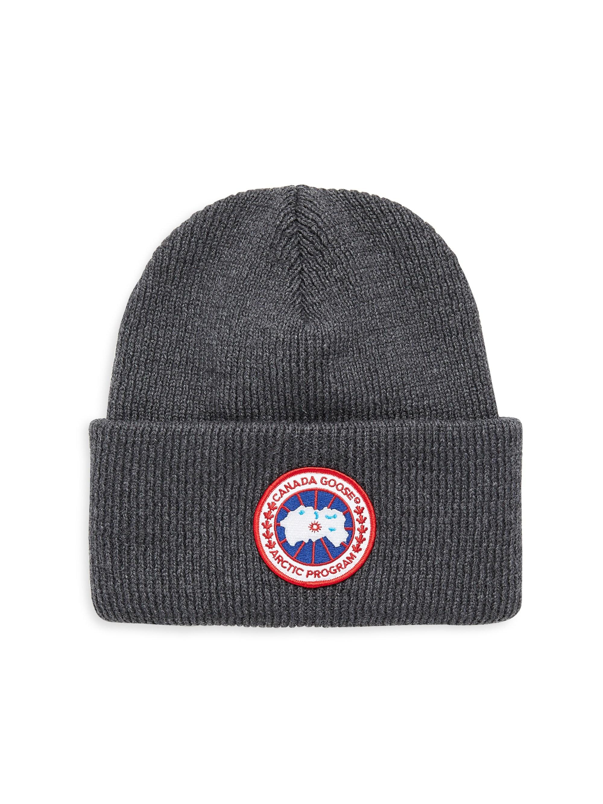 93ed400a40b Lyst - Canada Goose Artic Disc Torque Beanie in Gray for Men - Save 50%