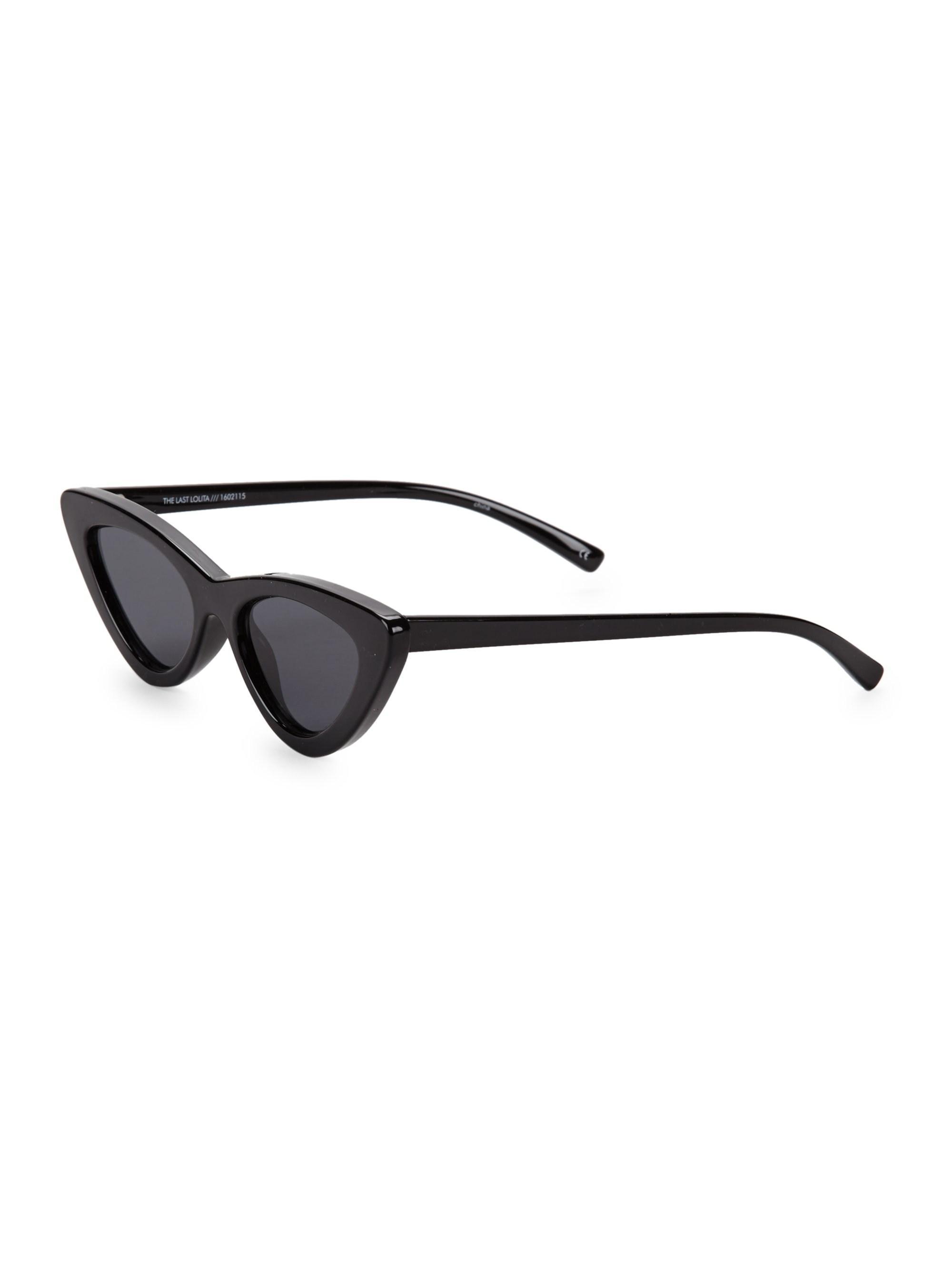 fbb3c7d5999 Le Specs - The Last Lolita Black Sunglasses - Lyst. View fullscreen