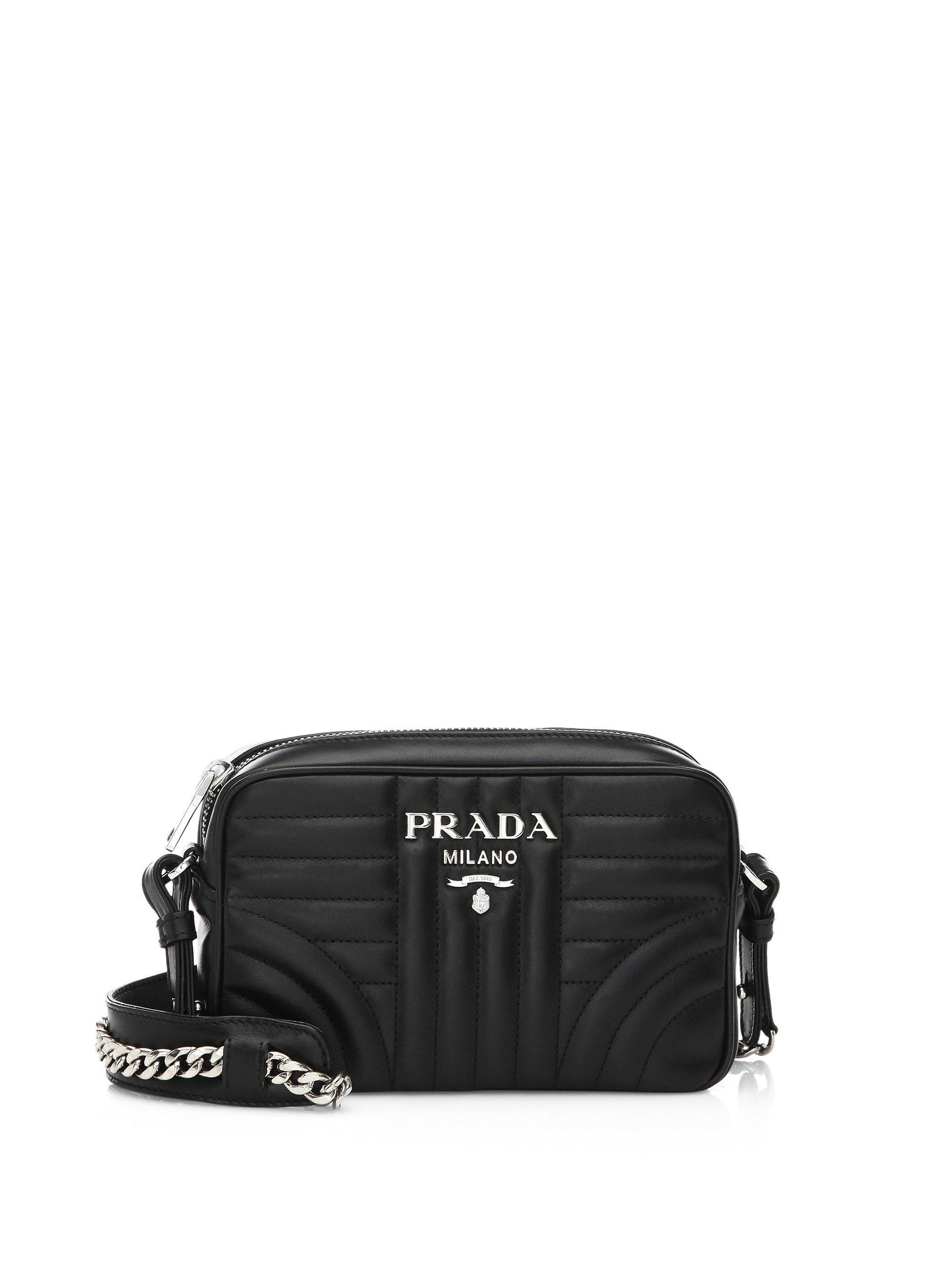 Cross Body Bags - Diagramme Crossbody Bag Nero - black - Cross Body Bags for ladies Prada ajwlC2z