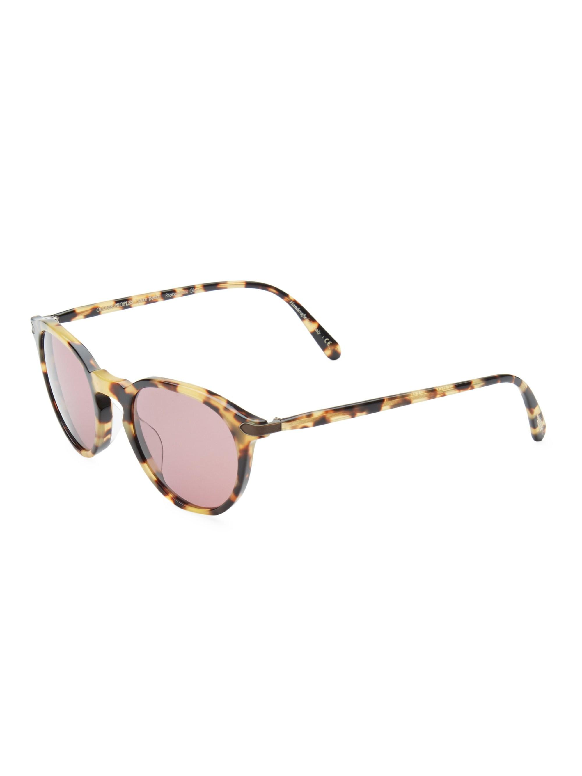 9518272d15 Lyst - Oliver Peoples Rue Marbeuf 50mm Cat Eye Sunglasses in Brown ...