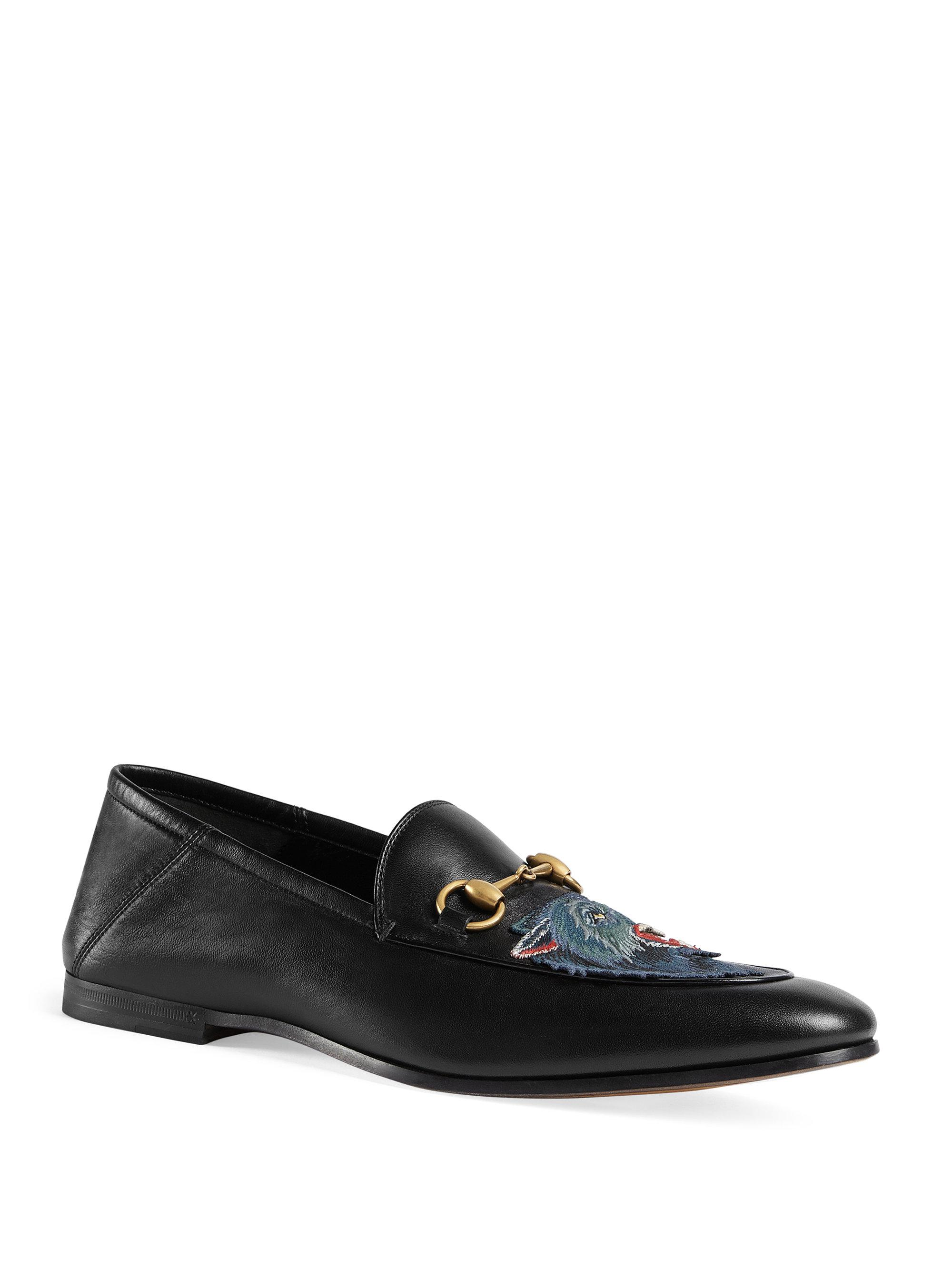 Black Wolf Brixton Loafers Gucci