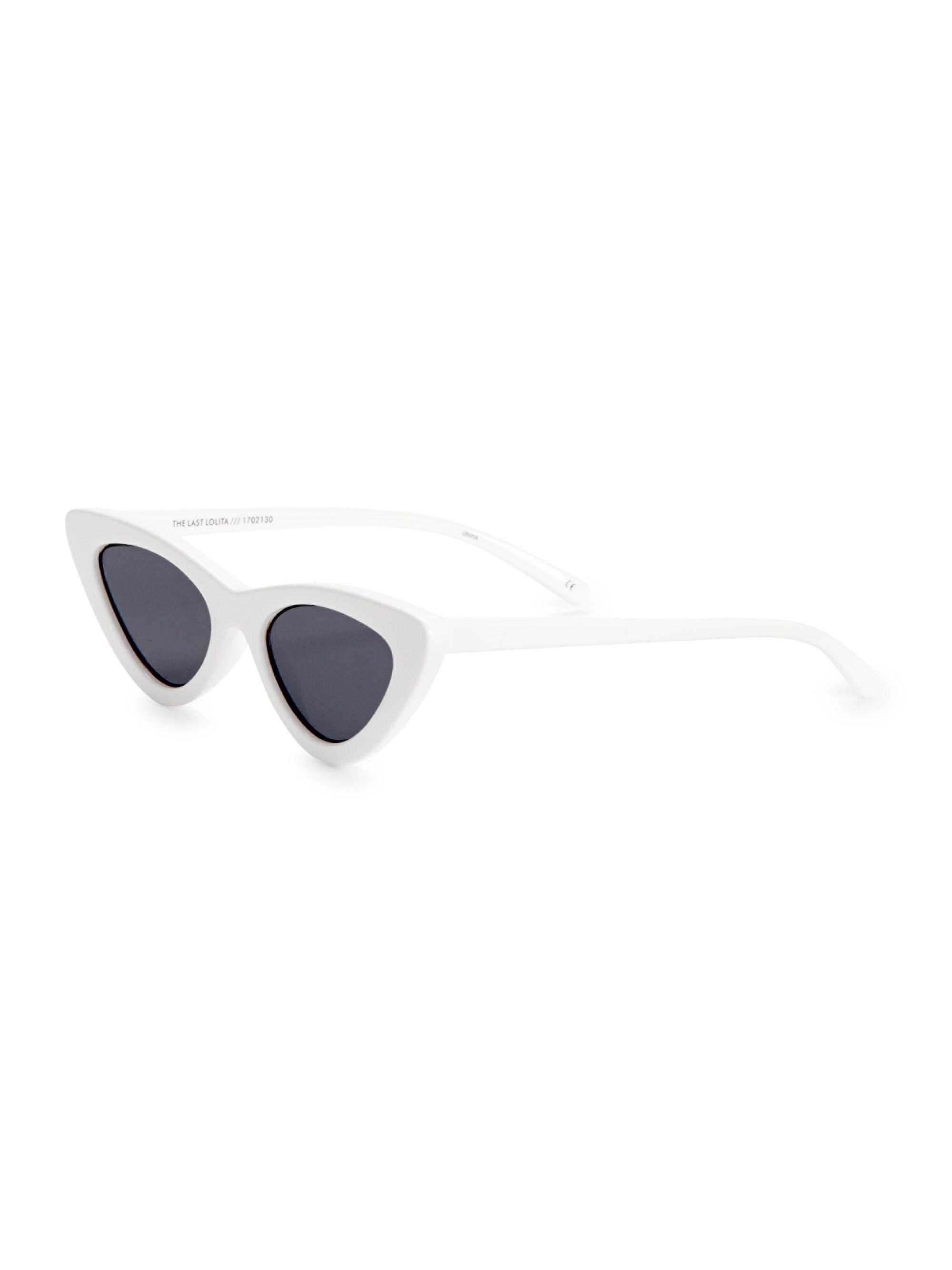 a80b44ce6a Le Specs - The Last Lolita White Sunglasses - Lyst. View fullscreen