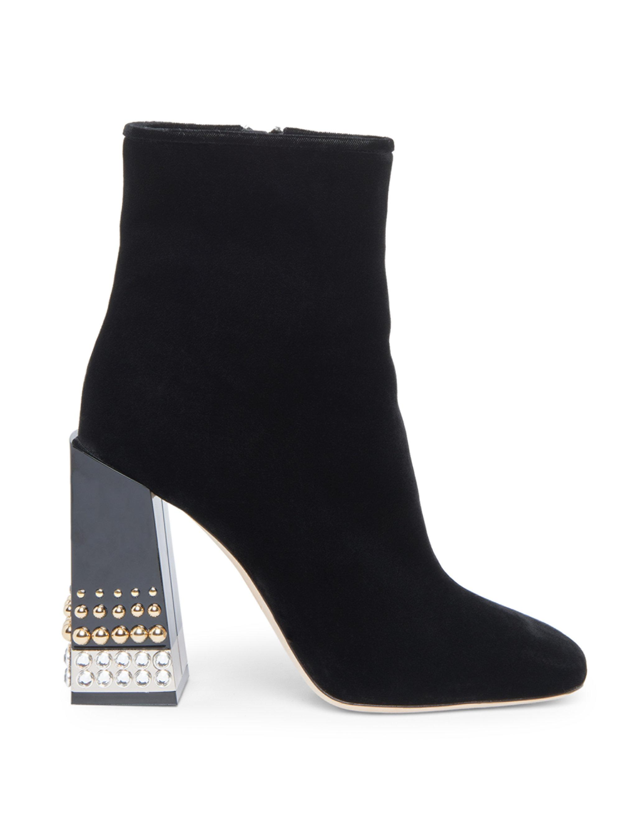 Dolce & Gabbana Side Zip Booties 246bsTiqQ
